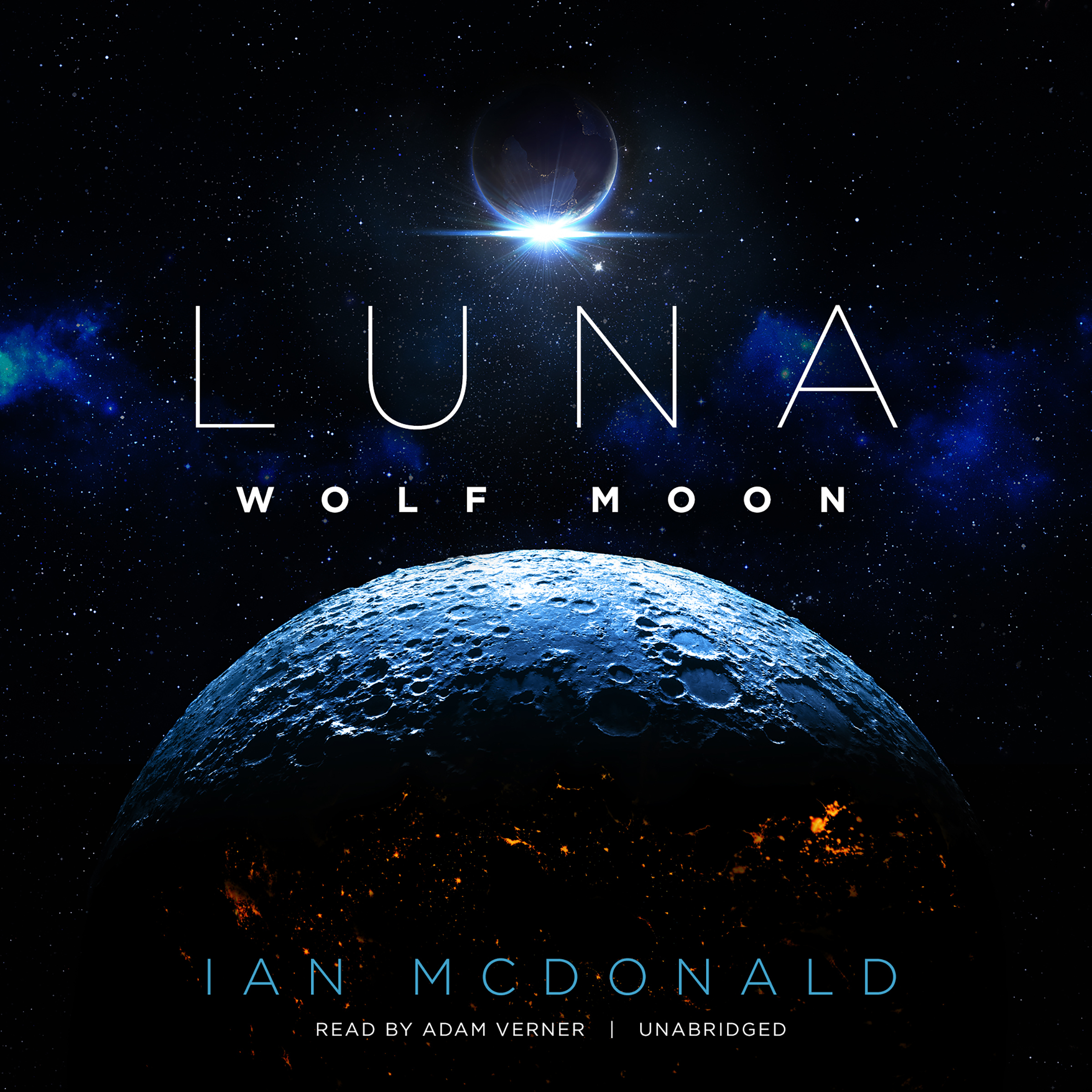 Printable Luna: Wolf Moon Audiobook Cover Art