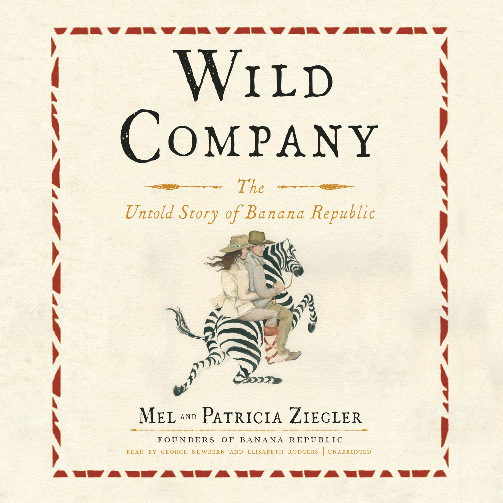 Printable Wild Company: The Untold Story of Banana Republic Audiobook Cover Art