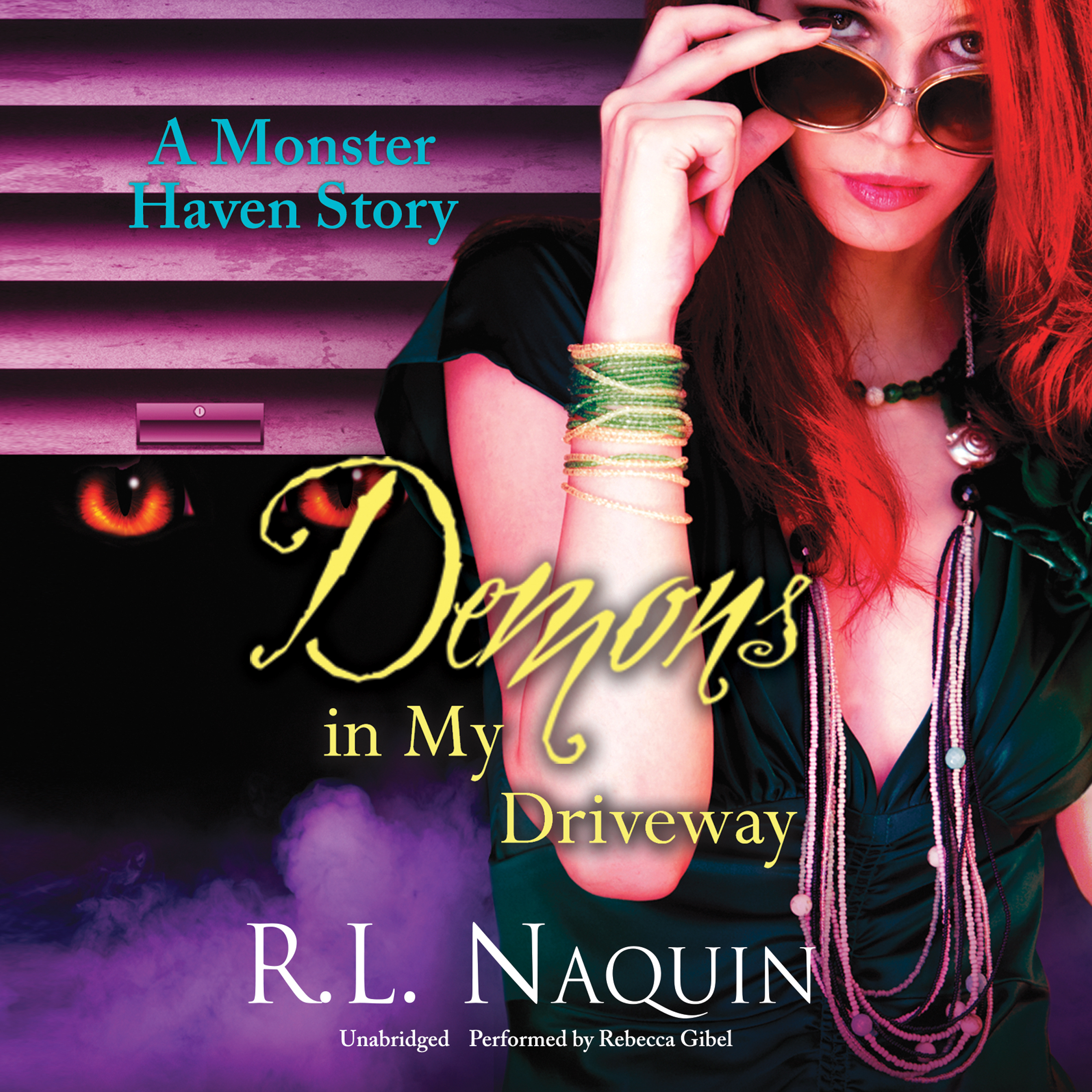 Printable Demons in My Driveway Audiobook Cover Art