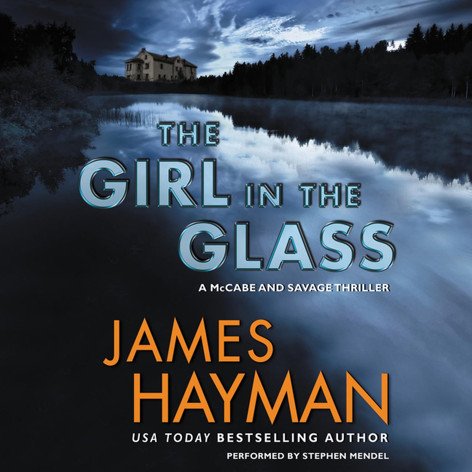 Printable The Girl in the Glass: A McCabe and Savage Thriller Audiobook Cover Art