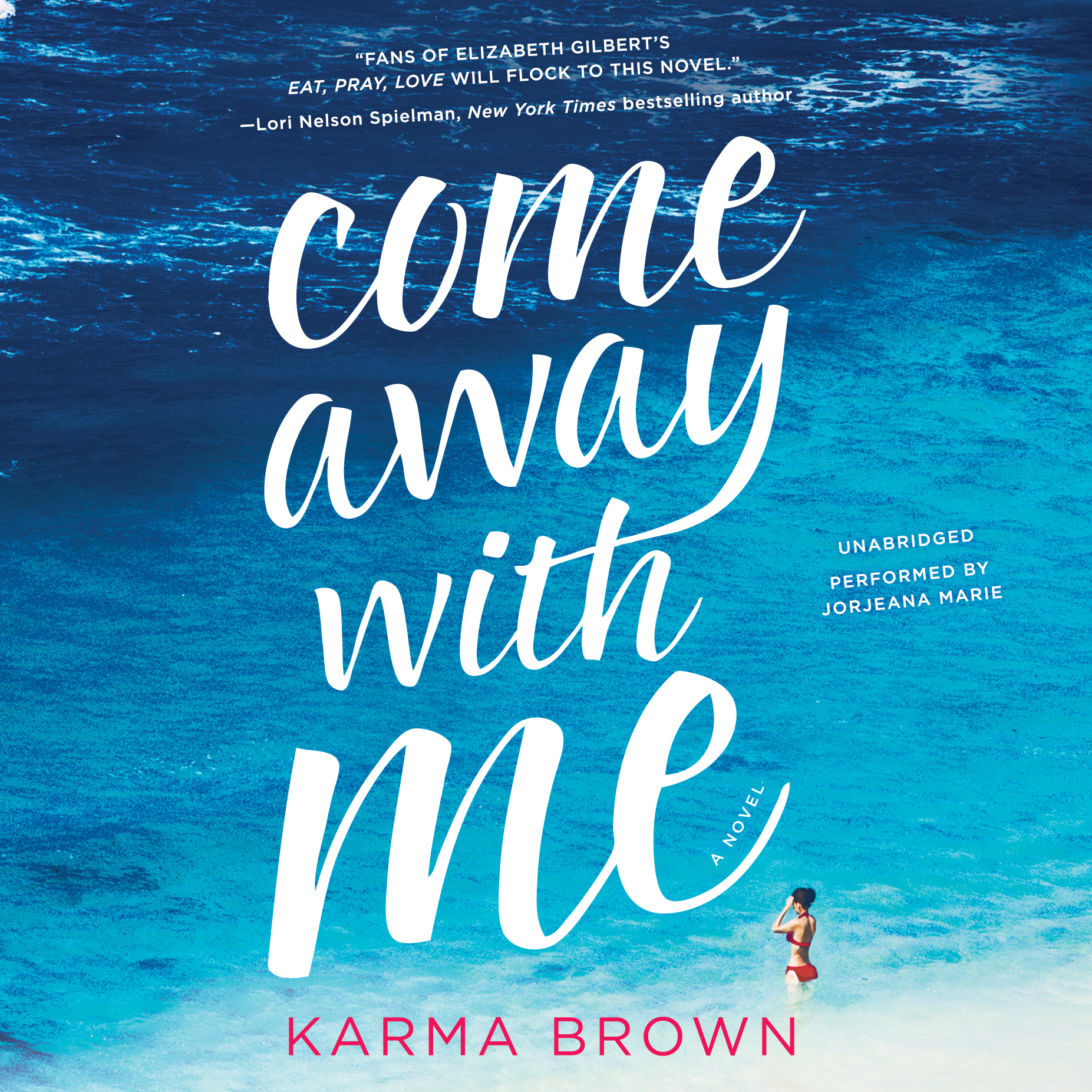 Printable Come Away with Me Audiobook Cover Art