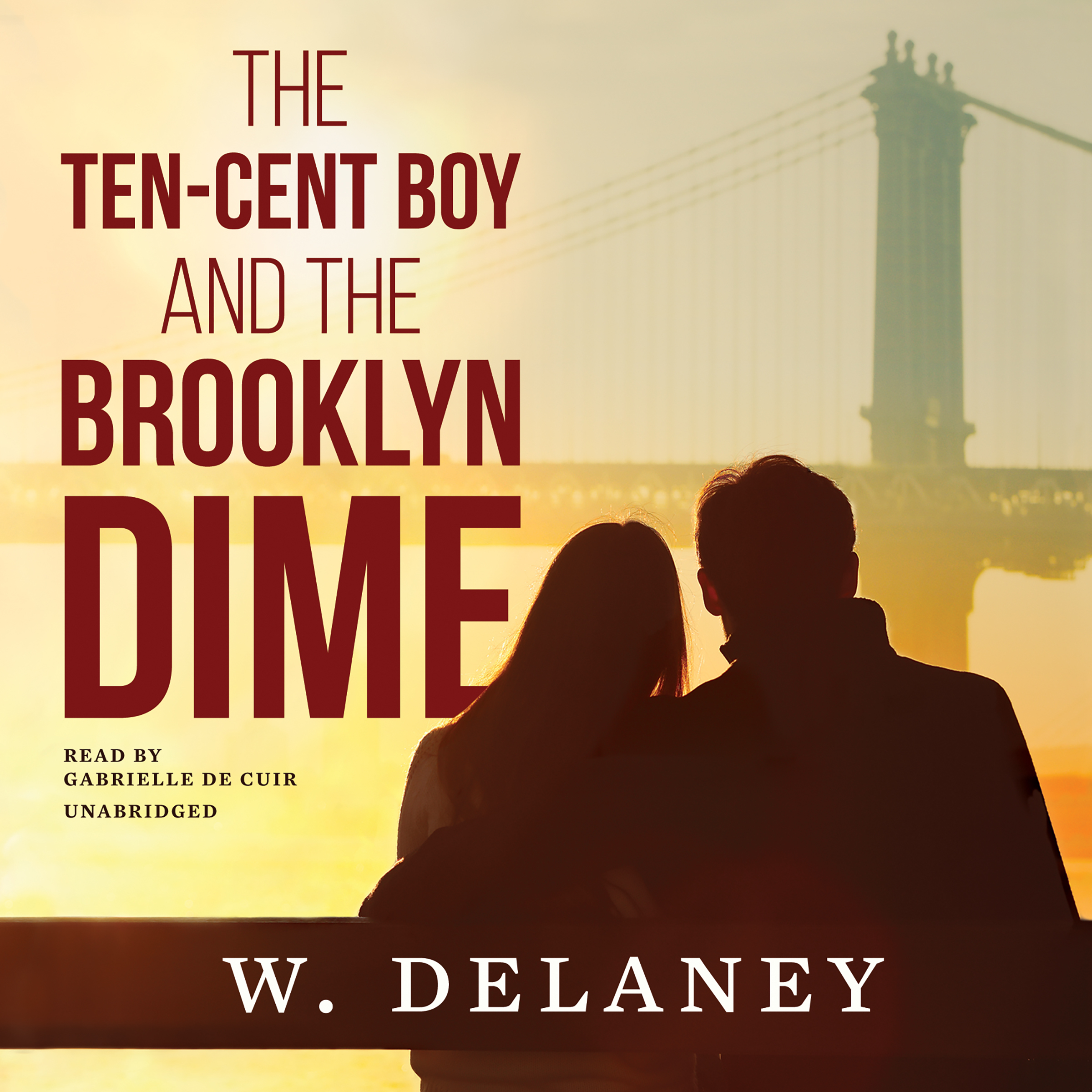 Printable The Ten-Cent Boy and the Brooklyn Dime Audiobook Cover Art