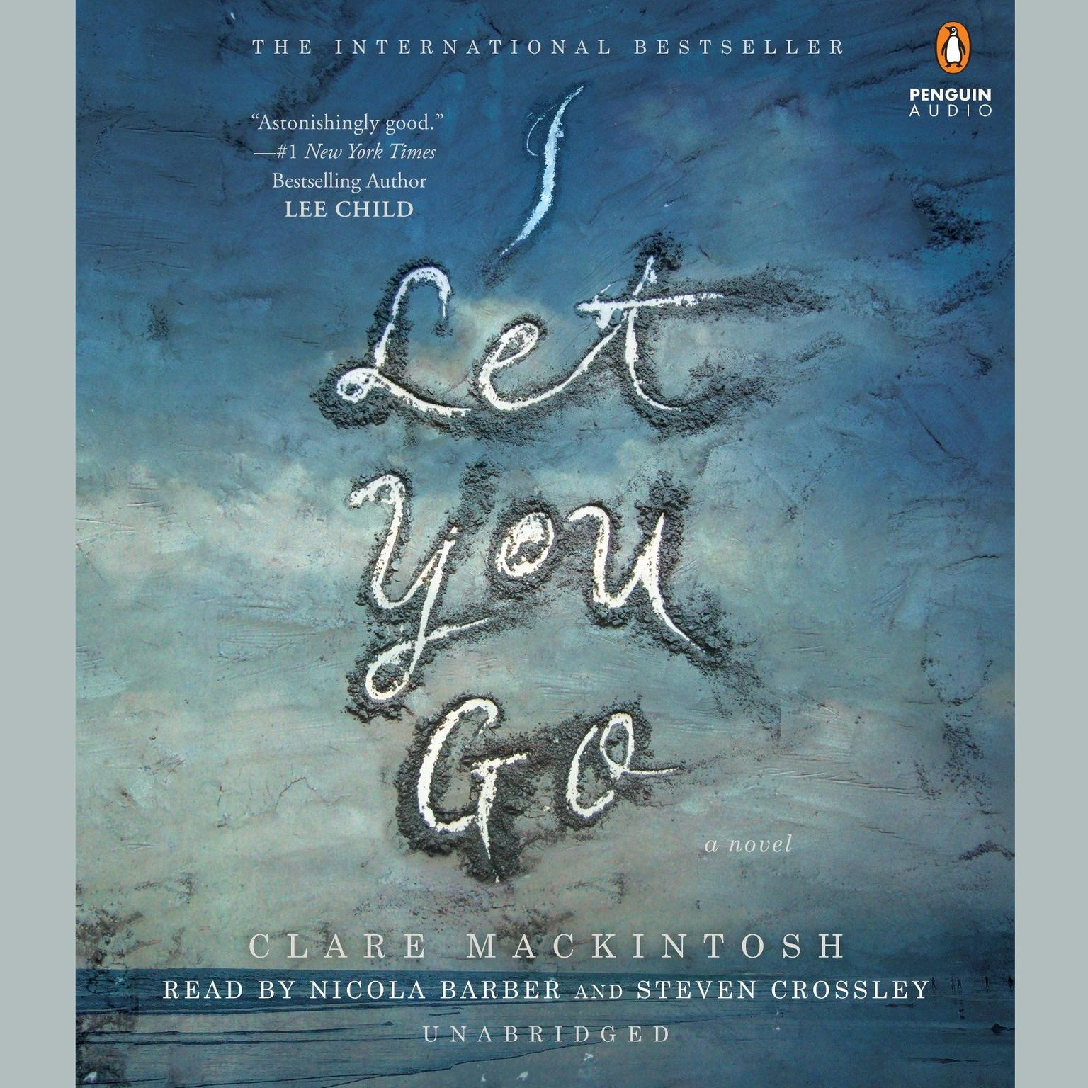 Printable I Let You Go Audiobook Cover Art