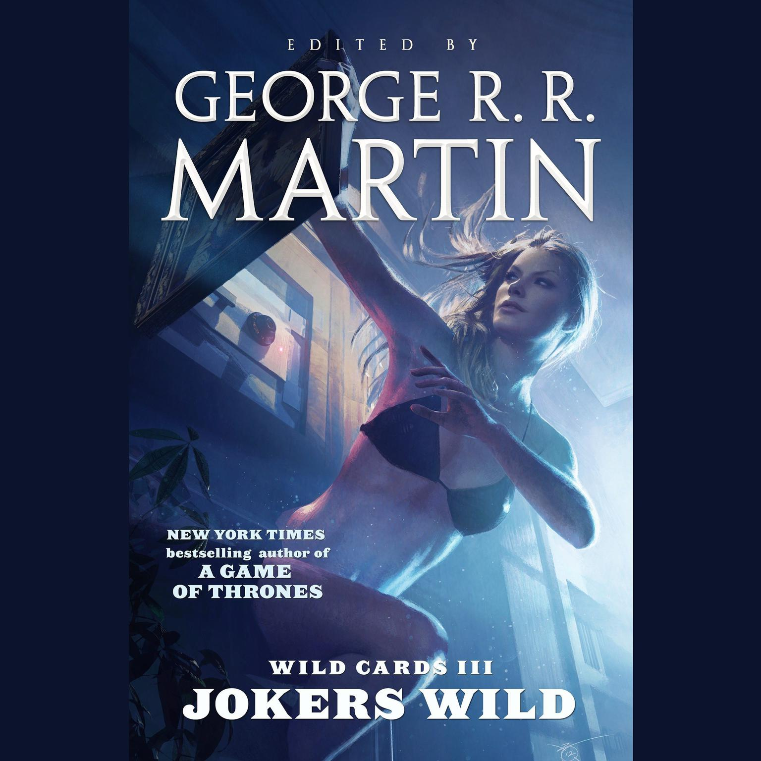 Printable Wild Cards III: Jokers Wild: Jokers Wild Audiobook Cover Art
