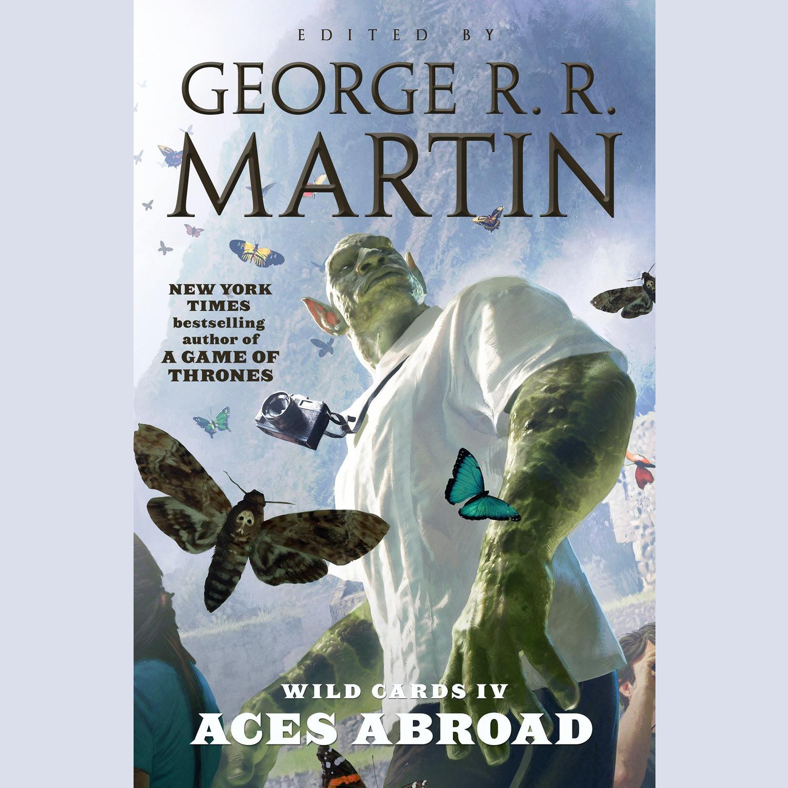 Printable Wild Cards IV: Aces Abroad: Aces Abroad Audiobook Cover Art