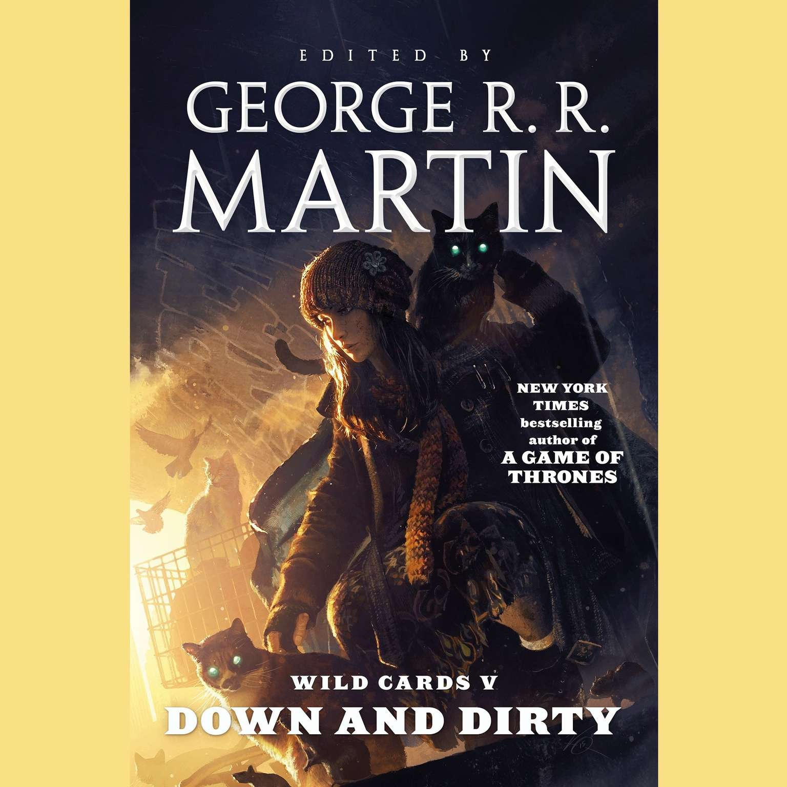 Printable Wild Cards V: Down and Dirty Audiobook Cover Art