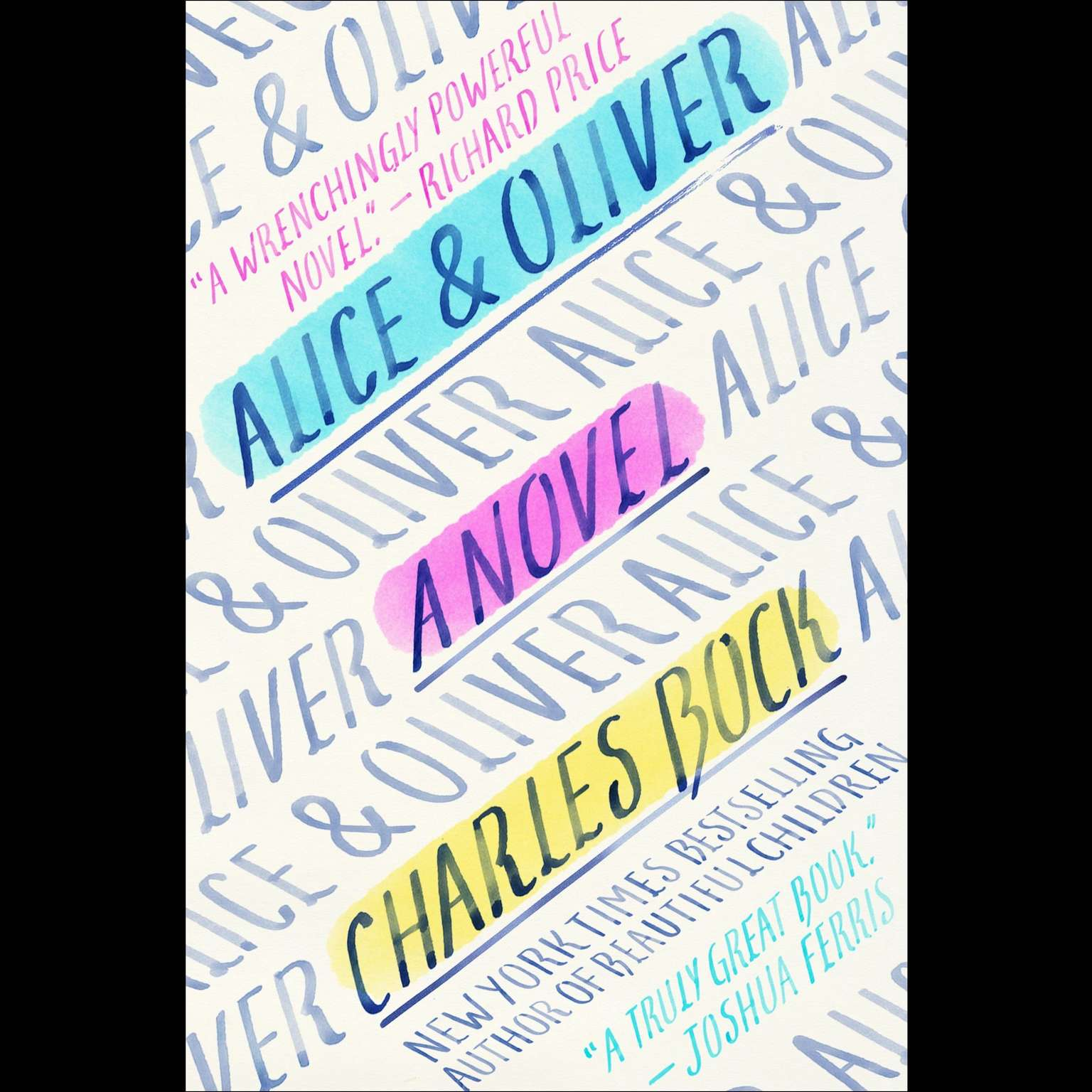Printable Alice & Oliver: A Novel Audiobook Cover Art