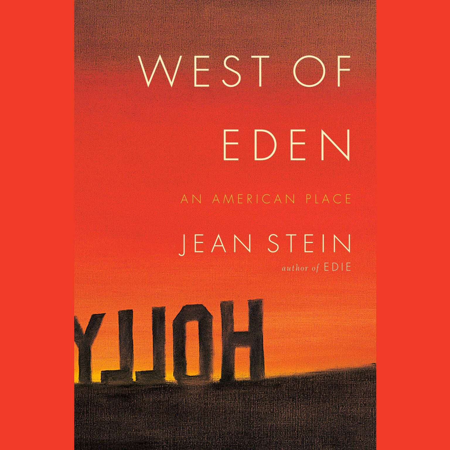 Printable West of Eden: An American Place Audiobook Cover Art