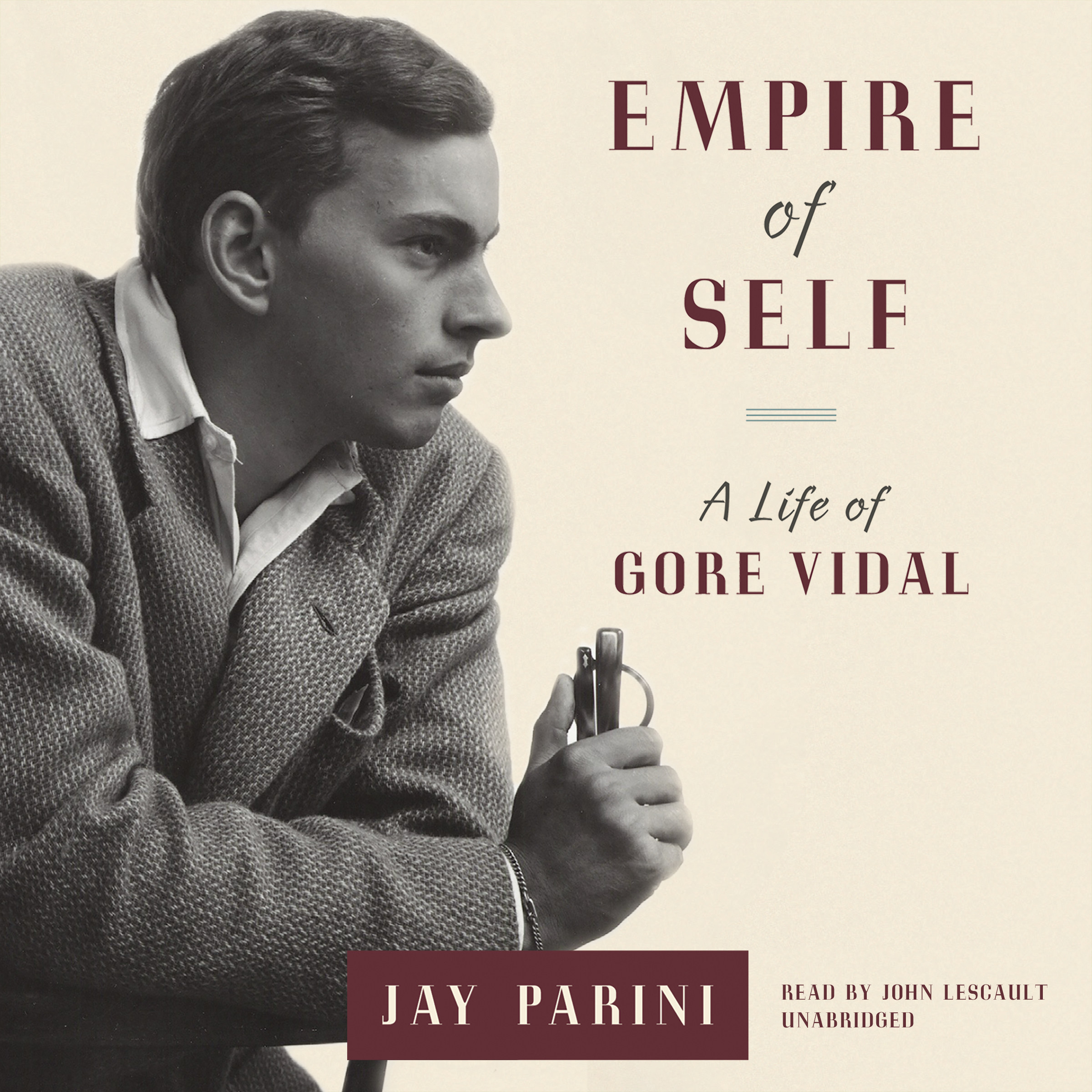 Printable Empire of Self: A Life of Gore Vidal Audiobook Cover Art