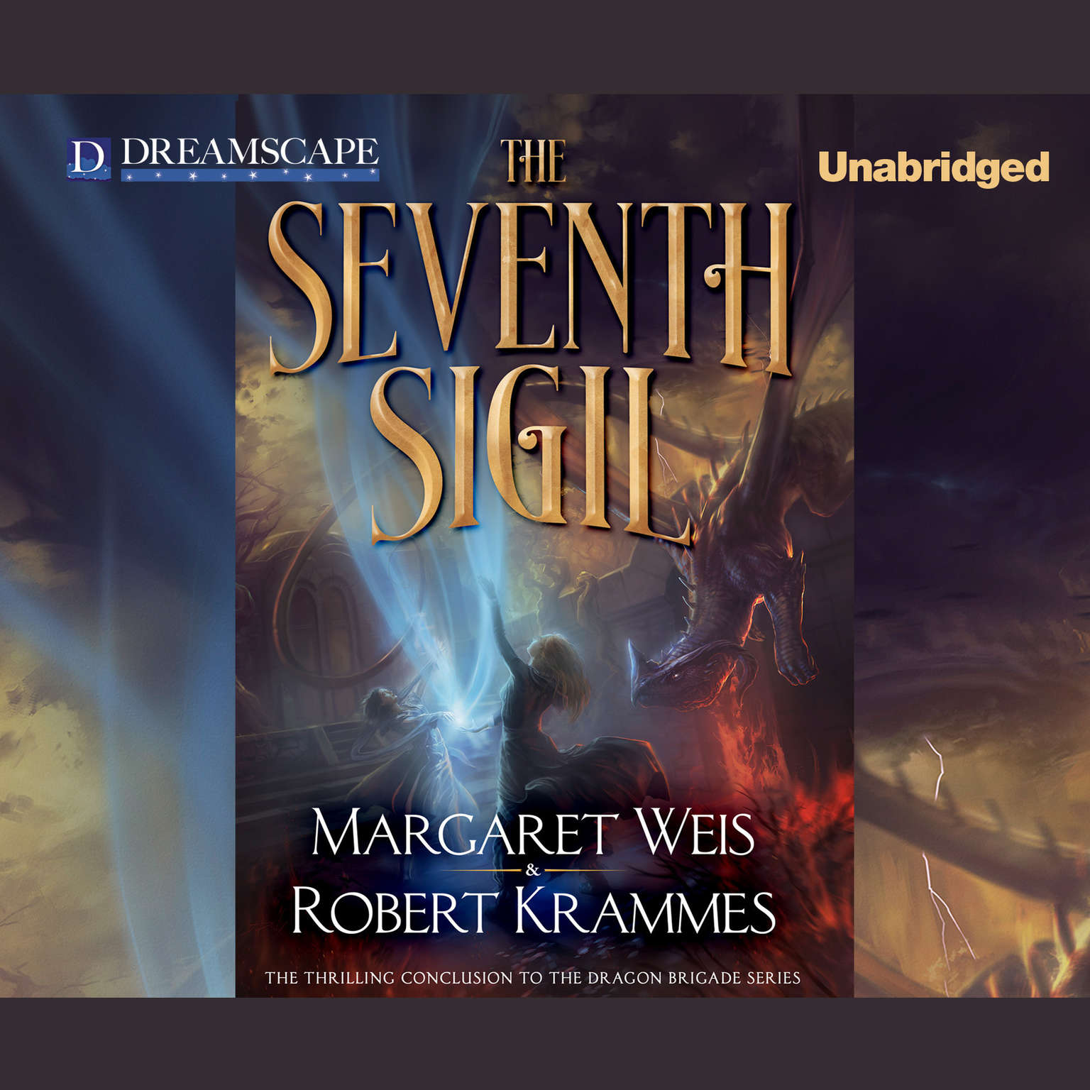 Printable The Seventh Sigil Audiobook Cover Art