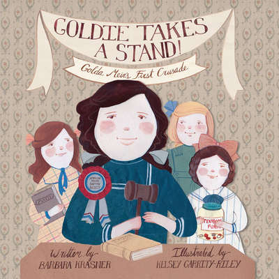 Goldie Takes a Stand!: Golda Meir's First Crusade Audiobook, by Barbara Krasner
