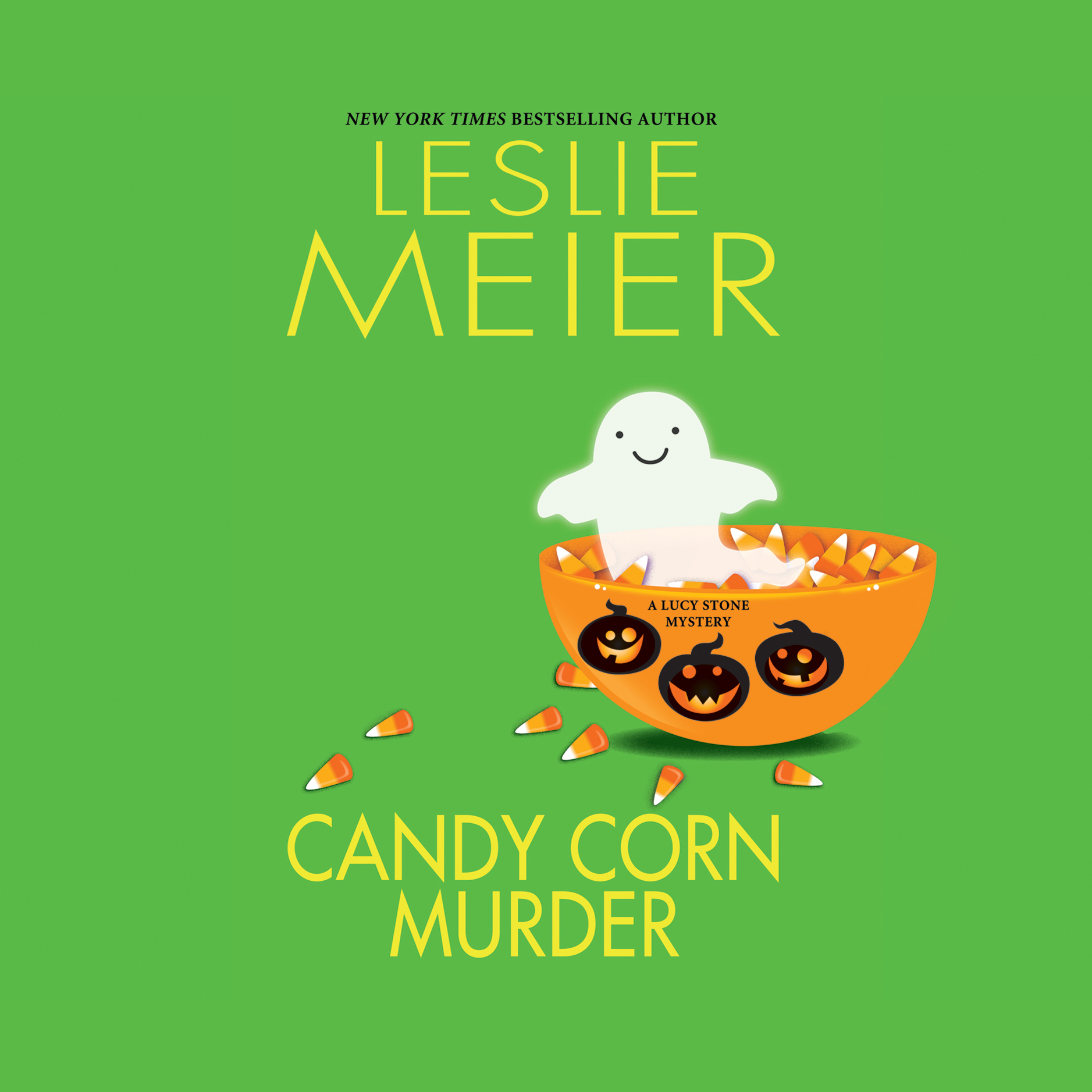 Printable Candy Corn Murder: A Lucy Stone Mystery Audiobook Cover Art