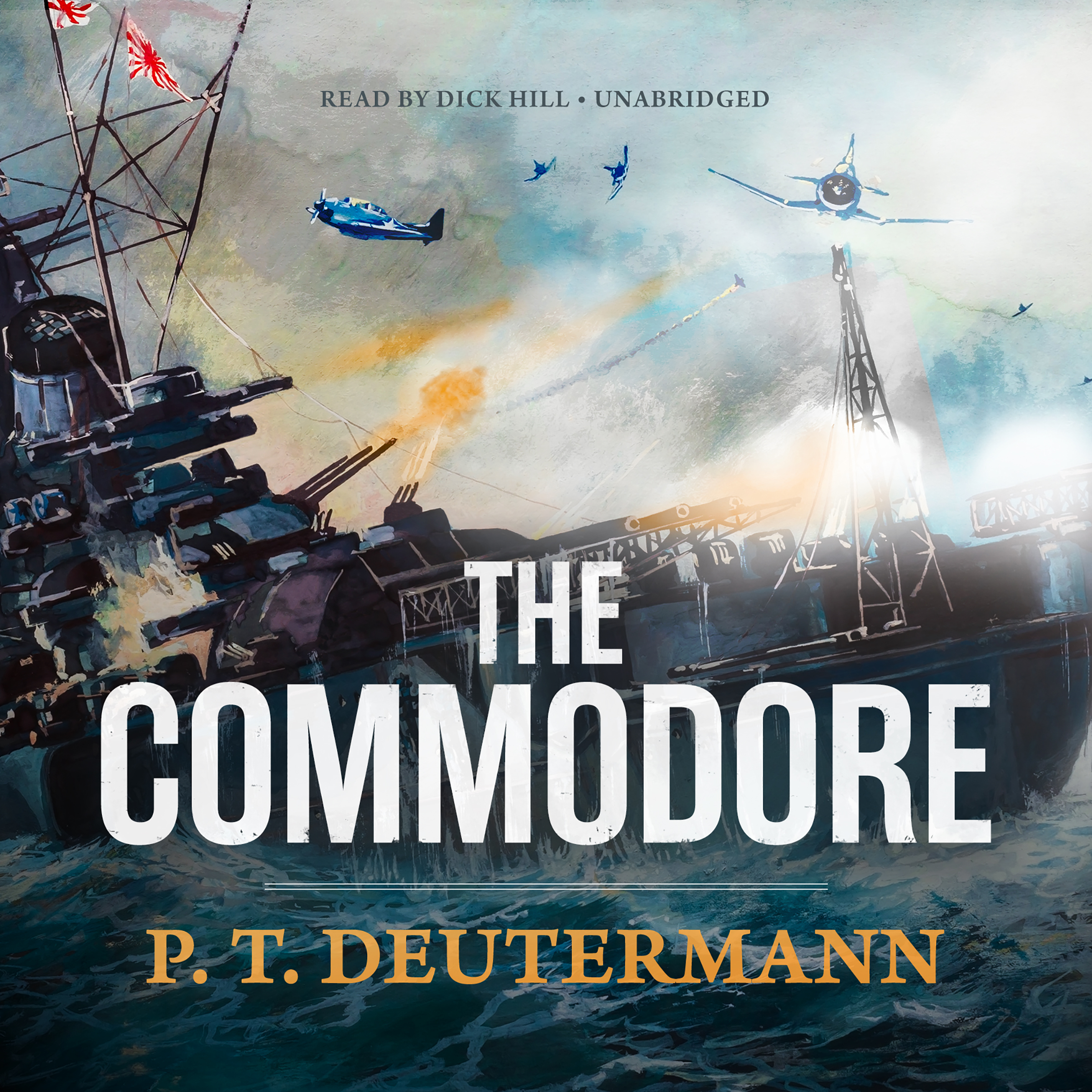 Printable The Commodore Audiobook Cover Art