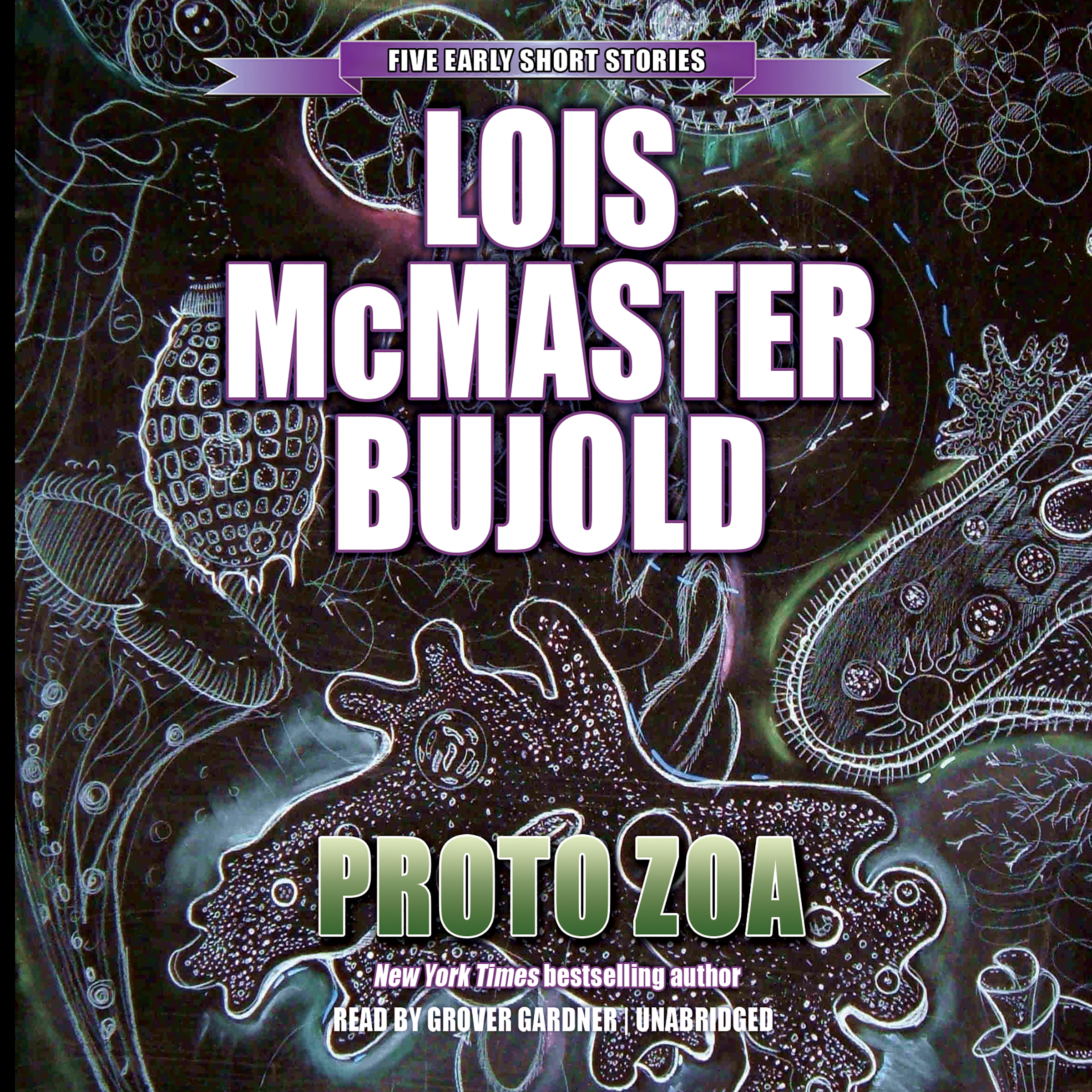 Printable Proto Zoa: Five Early Short Stories Audiobook Cover Art