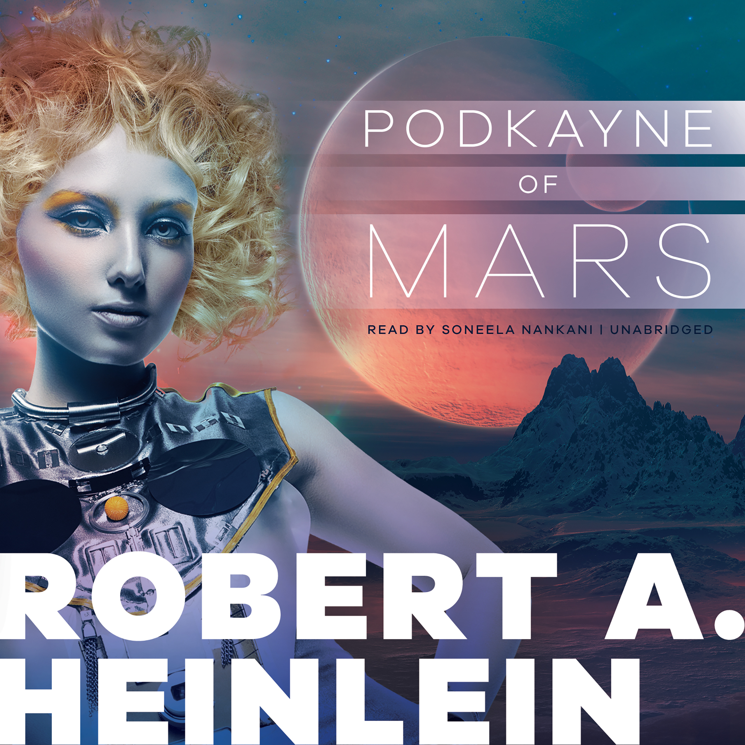 Printable Podkayne of Mars Audiobook Cover Art