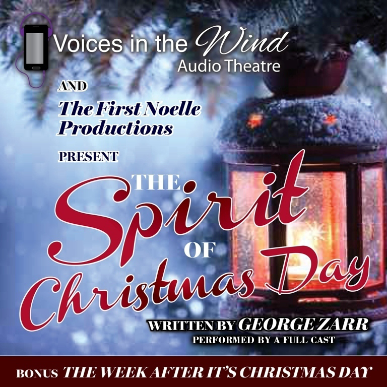 Printable The Spirit of Christmas Day Audiobook Cover Art