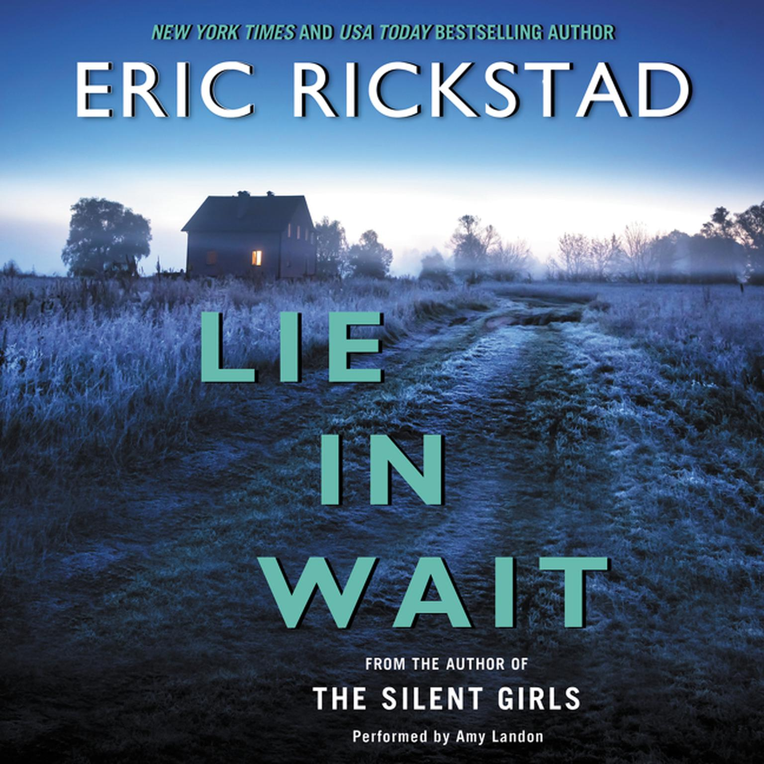 Printable Lie in Wait Audiobook Cover Art
