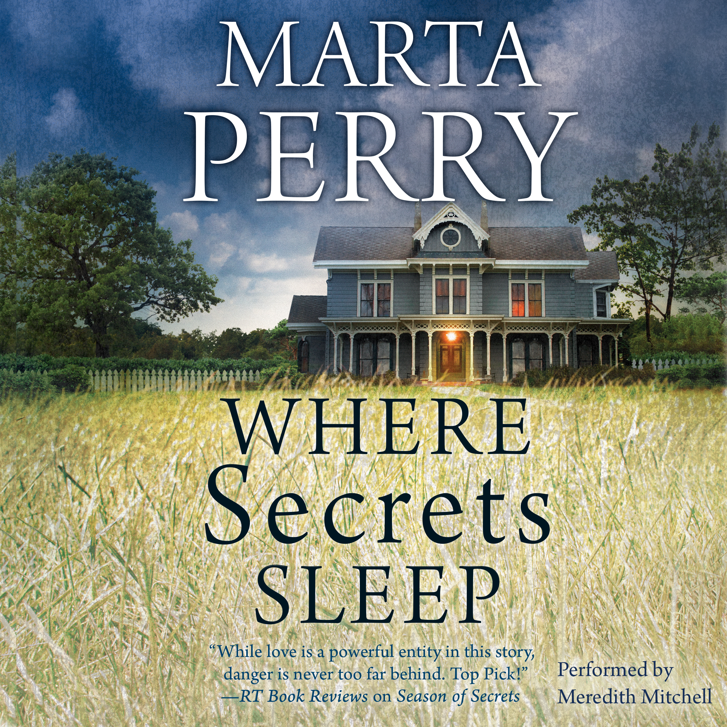 Printable Where Secrets Sleep Audiobook Cover Art