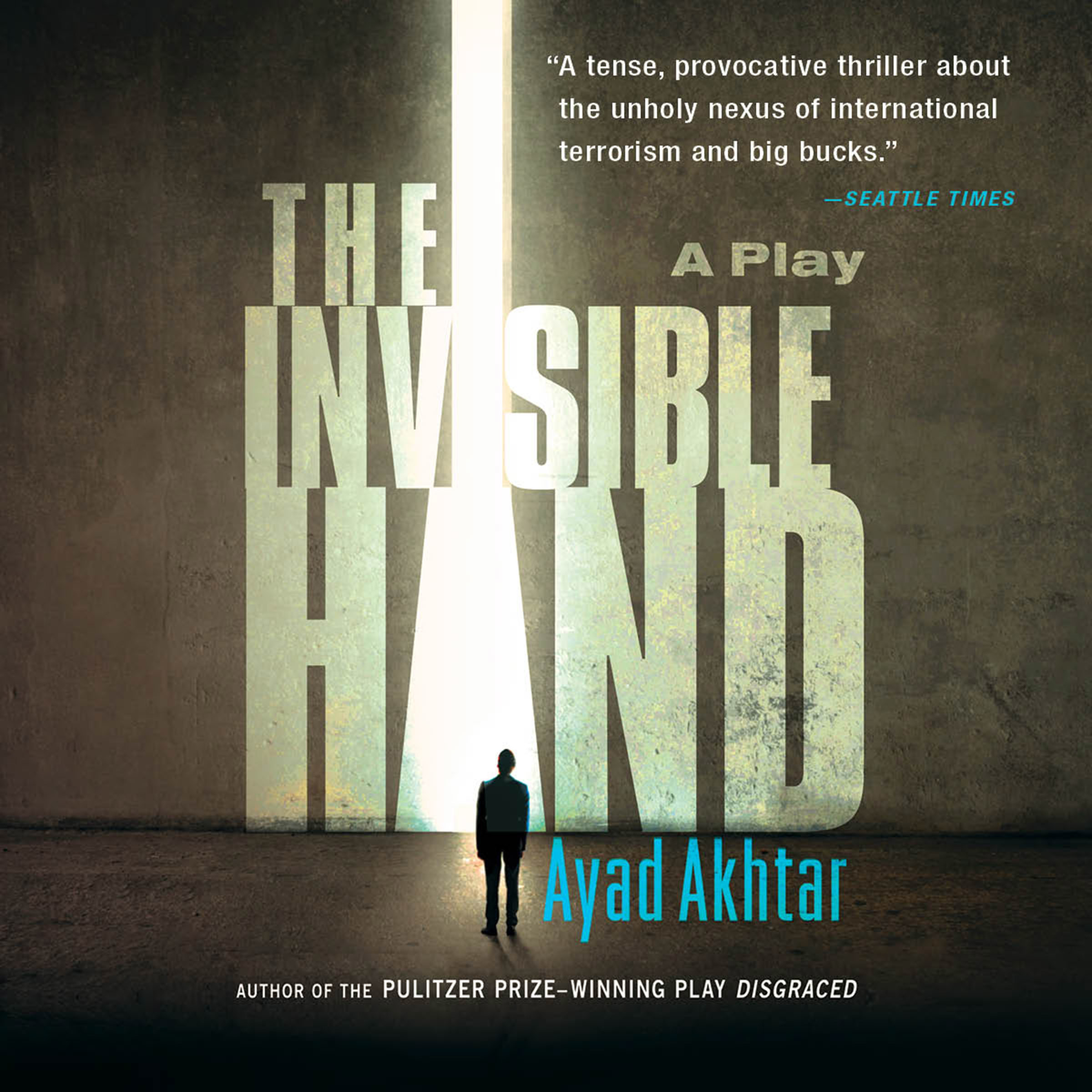 Printable The Invisible Hand: A Play Audiobook Cover Art
