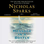 Message in a Bottle Audiobook, by Nicholas Sparks