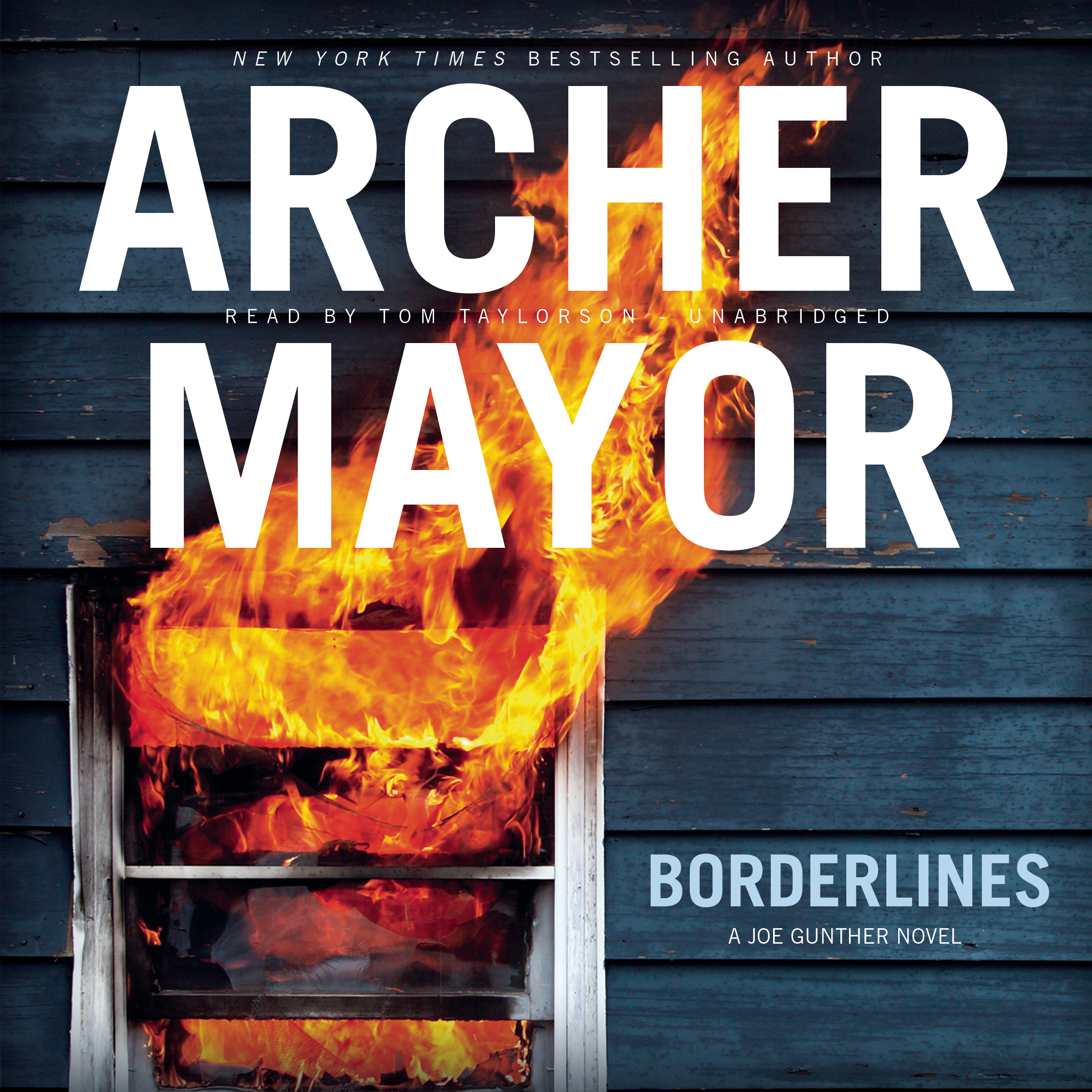 Printable Borderlines Audiobook Cover Art