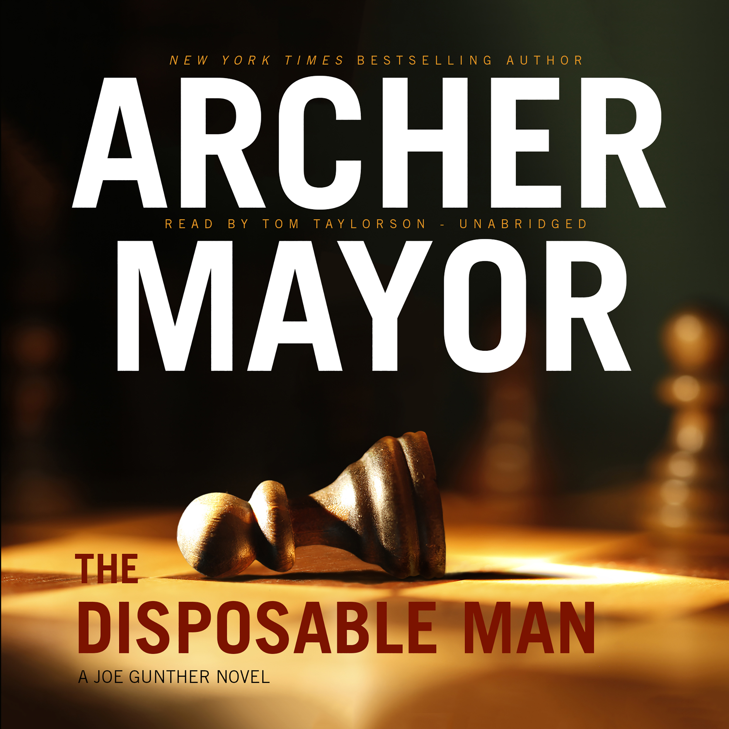 Printable The Disposable Man Audiobook Cover Art