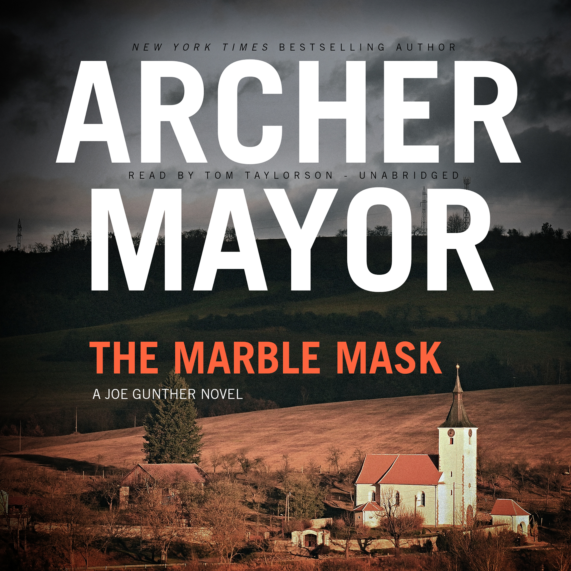 Printable The Marble Mask: A Joe Gunther Novel Audiobook Cover Art
