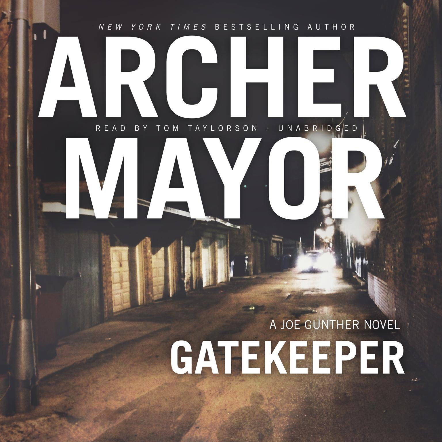 Printable Gatekeeper: A Joe Gunther Novel Audiobook Cover Art