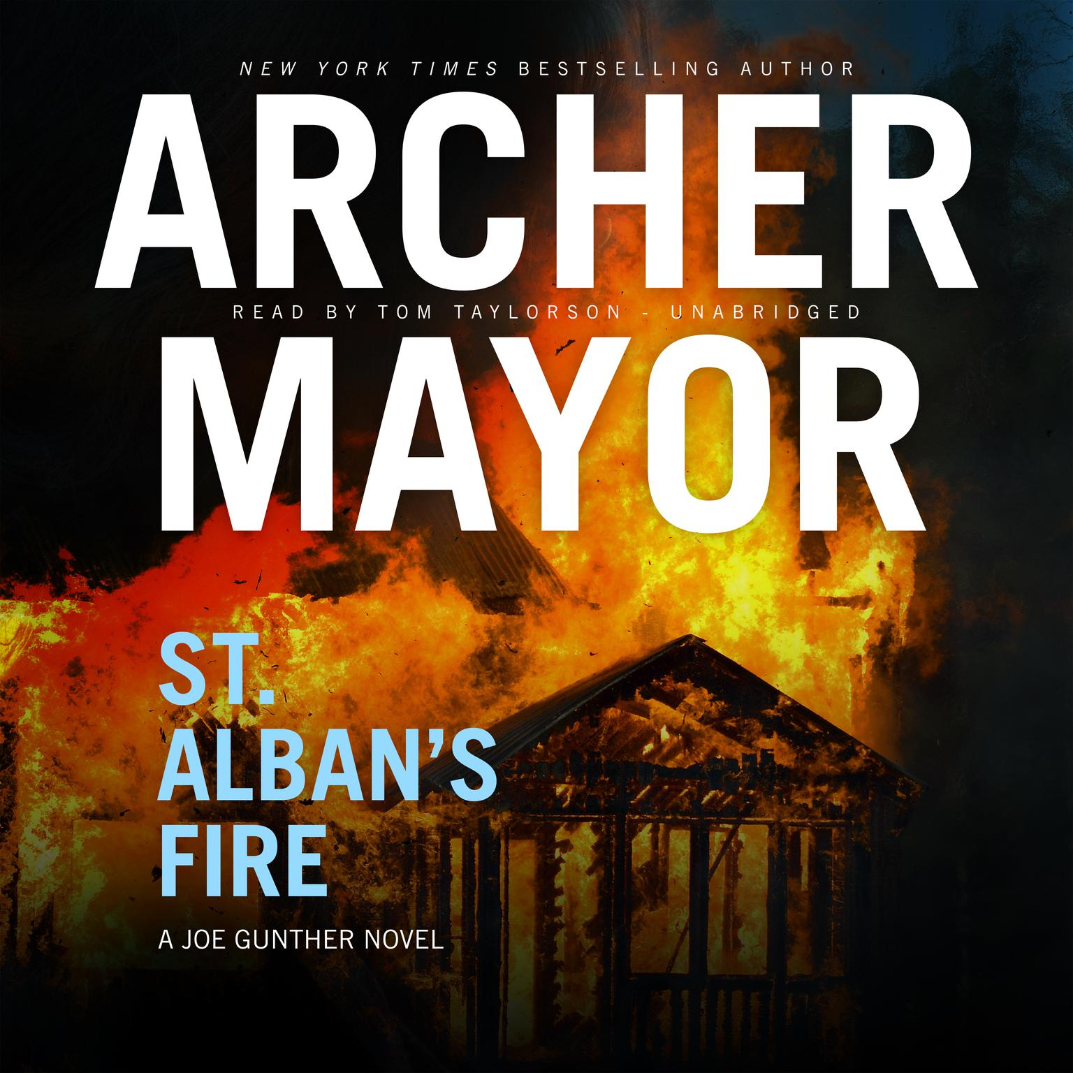 Printable St. Alban's Fire Audiobook Cover Art