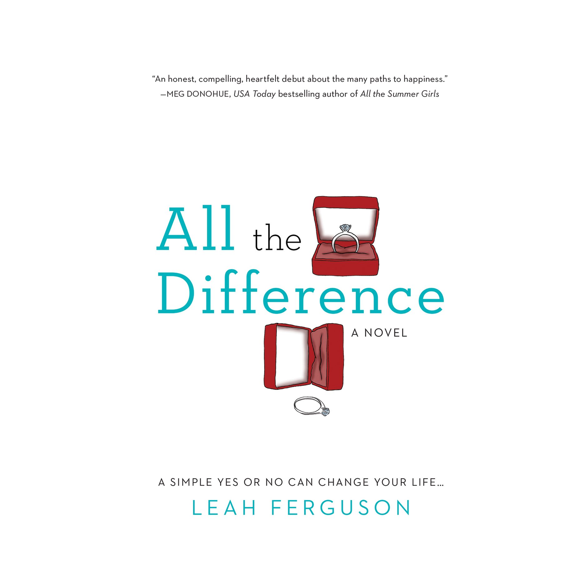 Printable All the Difference Audiobook Cover Art