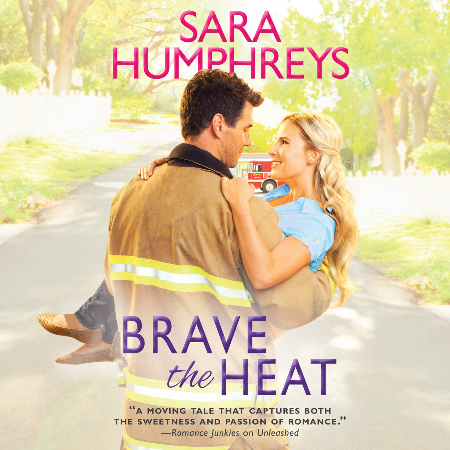 Printable Brave the Heat Audiobook Cover Art