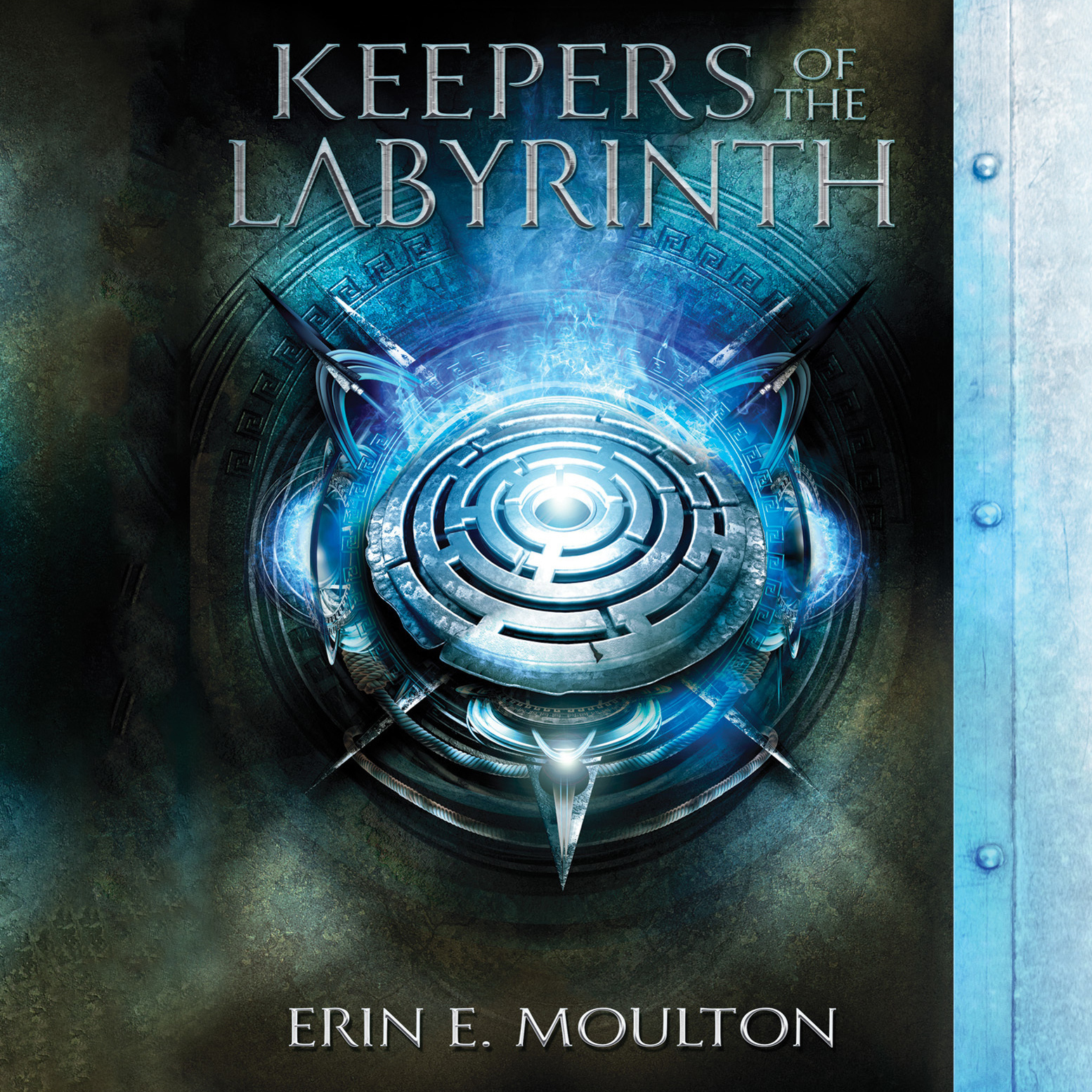 Printable Keepers of the Labyrinth Audiobook Cover Art