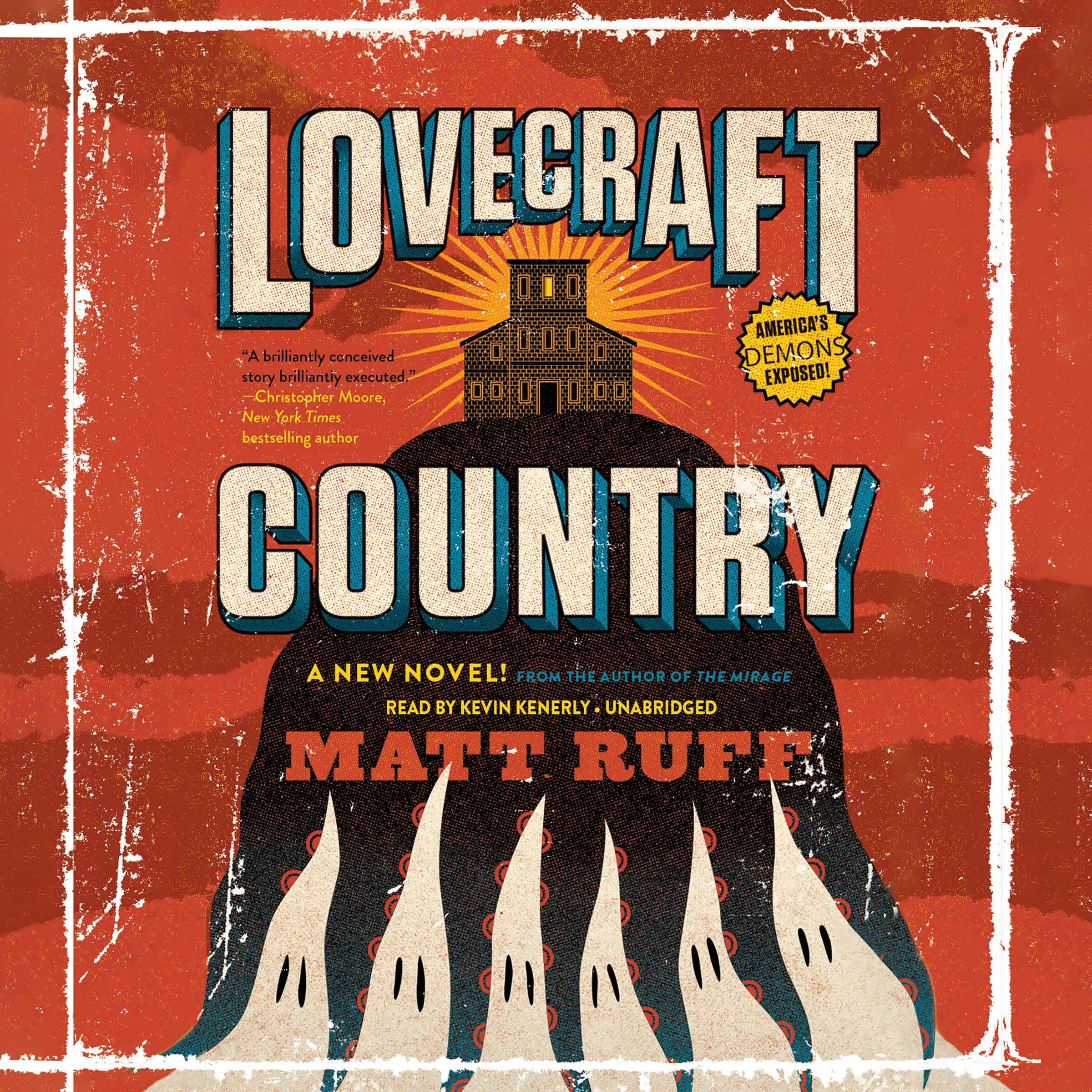 Printable Lovecraft Country: A Novel Audiobook Cover Art