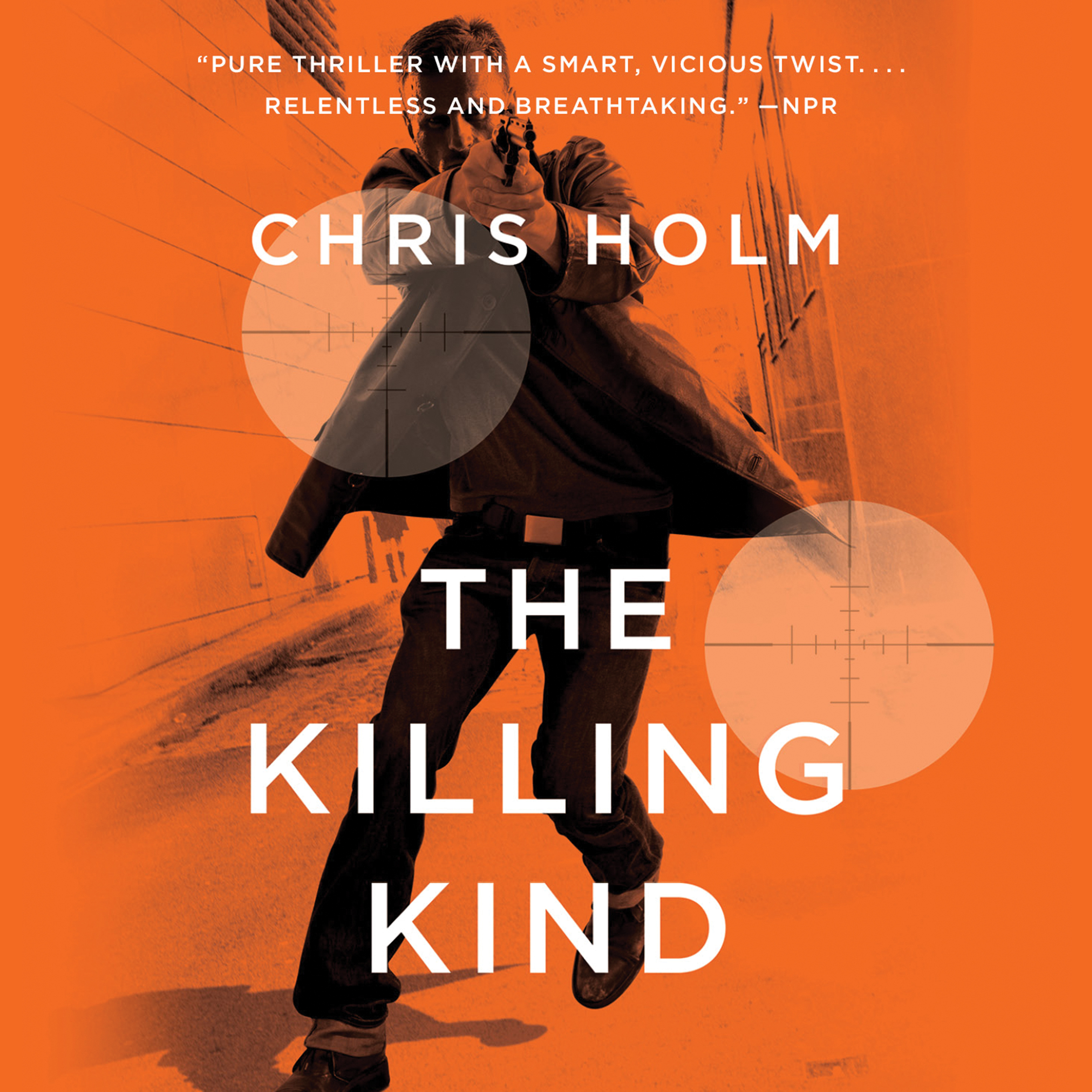 Printable The Killing Kind Audiobook Cover Art
