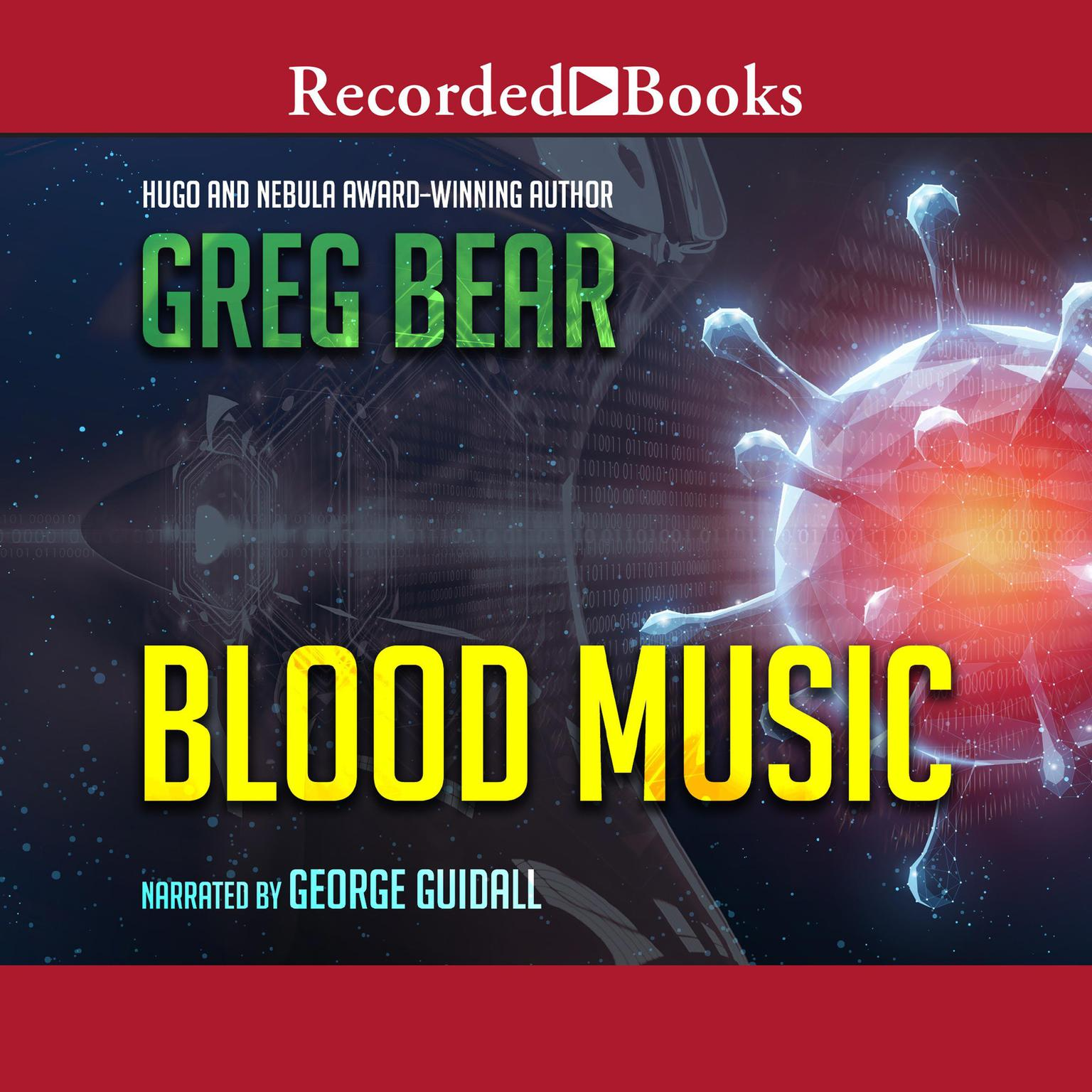 Printable Blood Music Audiobook Cover Art