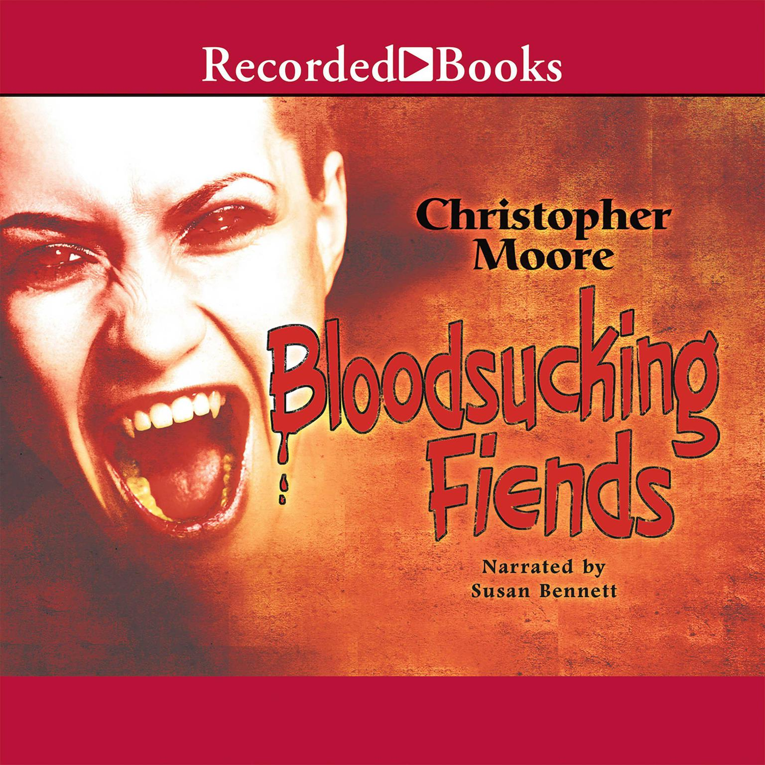 Printable Bloodsucking Fiends Audiobook Cover Art