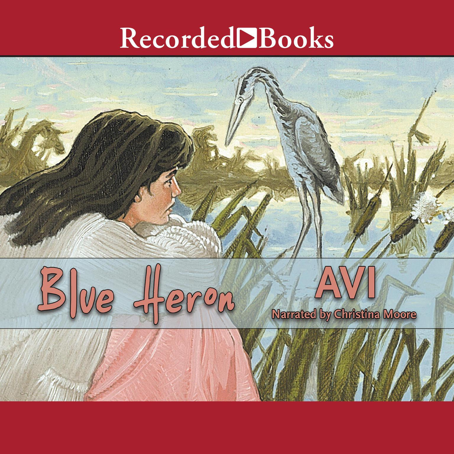 Printable Blue Heron Audiobook Cover Art