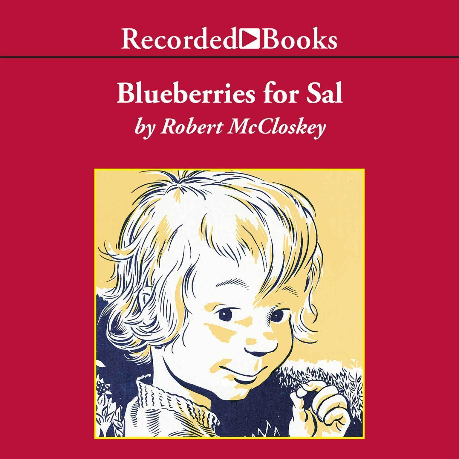 Printable Blueberries for Sal Audiobook Cover Art
