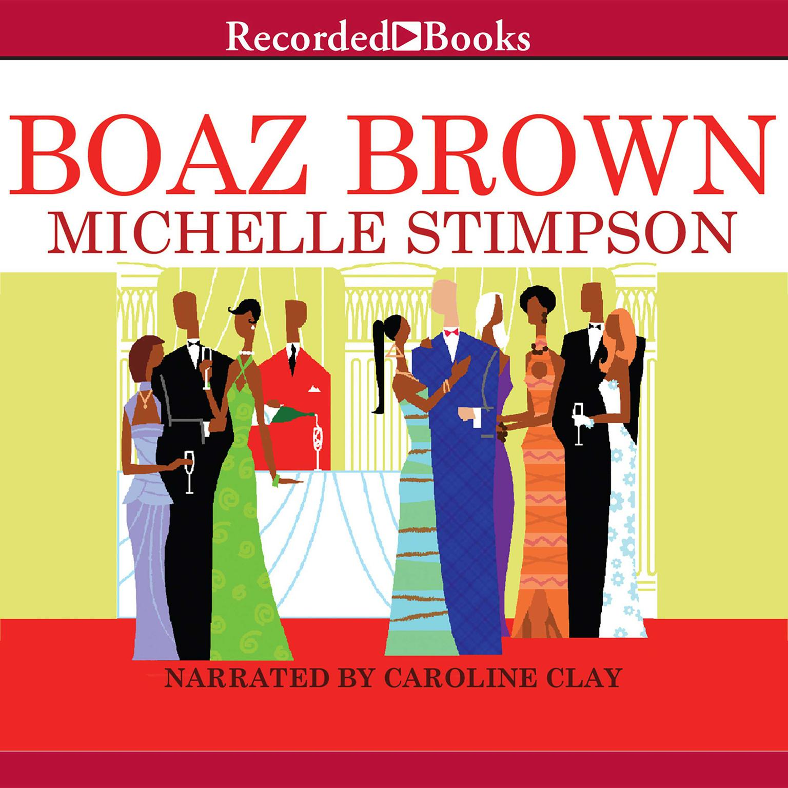 Printable Boaz Brown Audiobook Cover Art