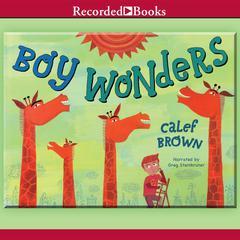 Boy Wonders Audiobook, by Calef Brown