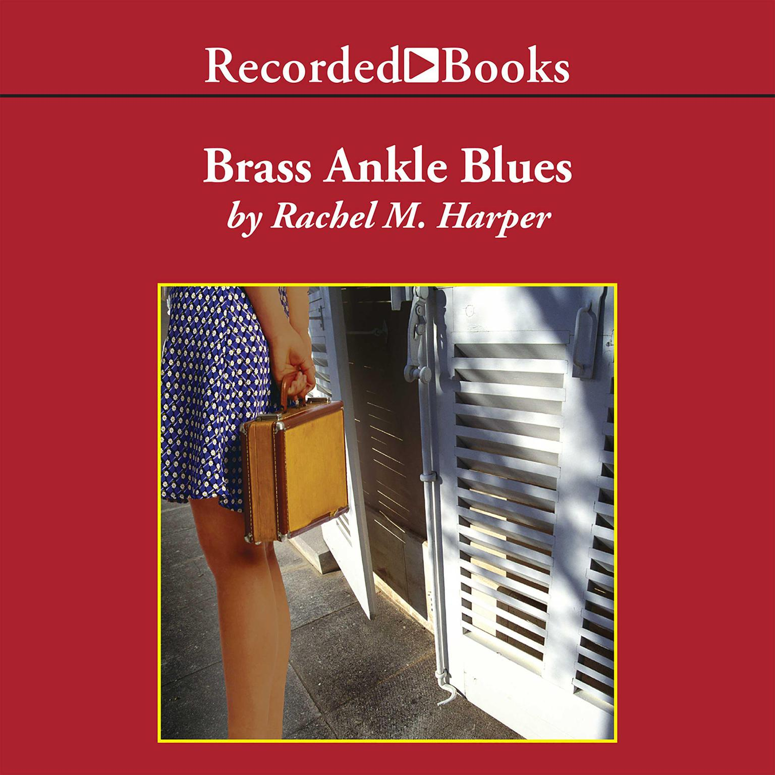 Printable Brass Ankle Blues Audiobook Cover Art