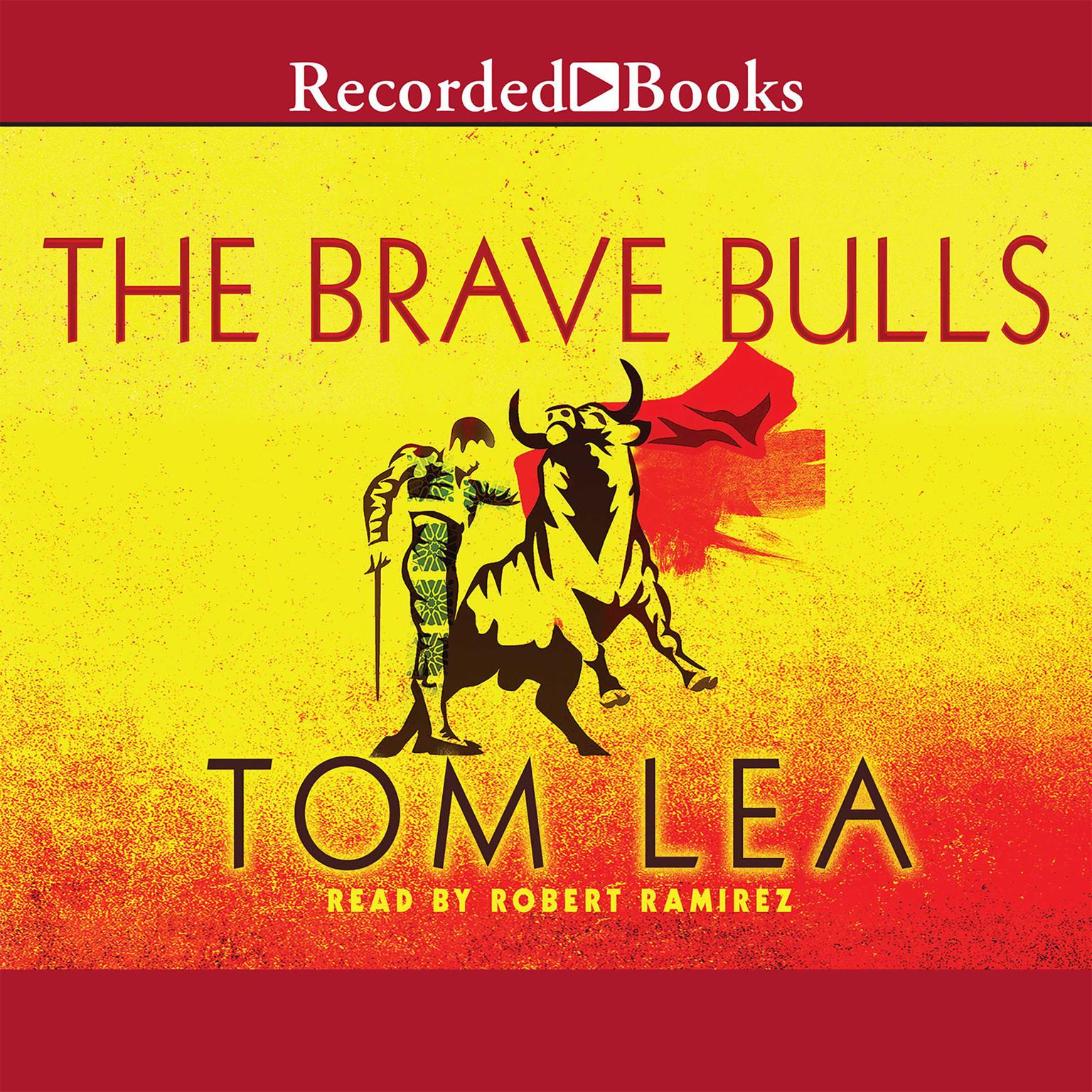 Printable The Brave Bulls Audiobook Cover Art