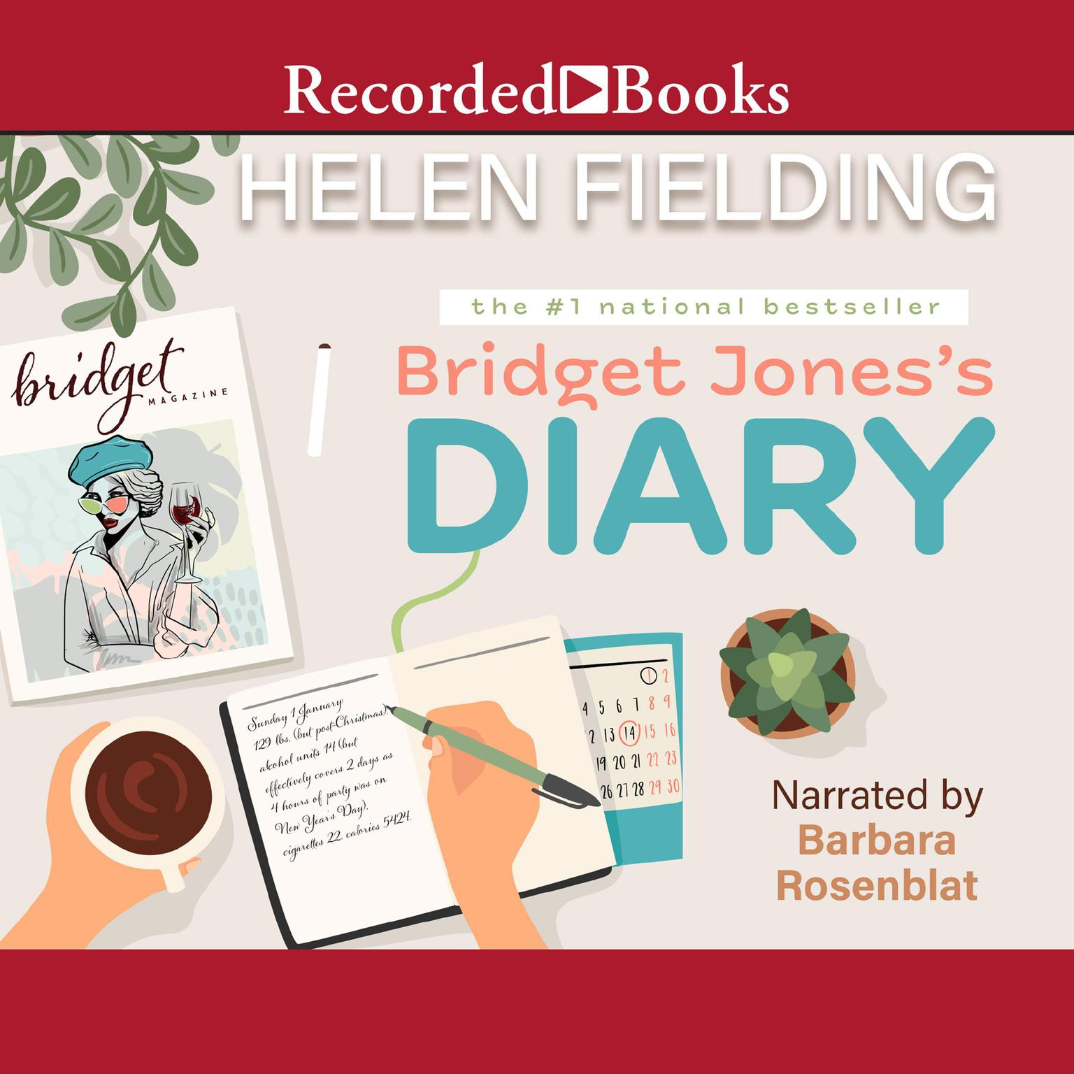 Printable Bridget Jones' Diary Audiobook Cover Art