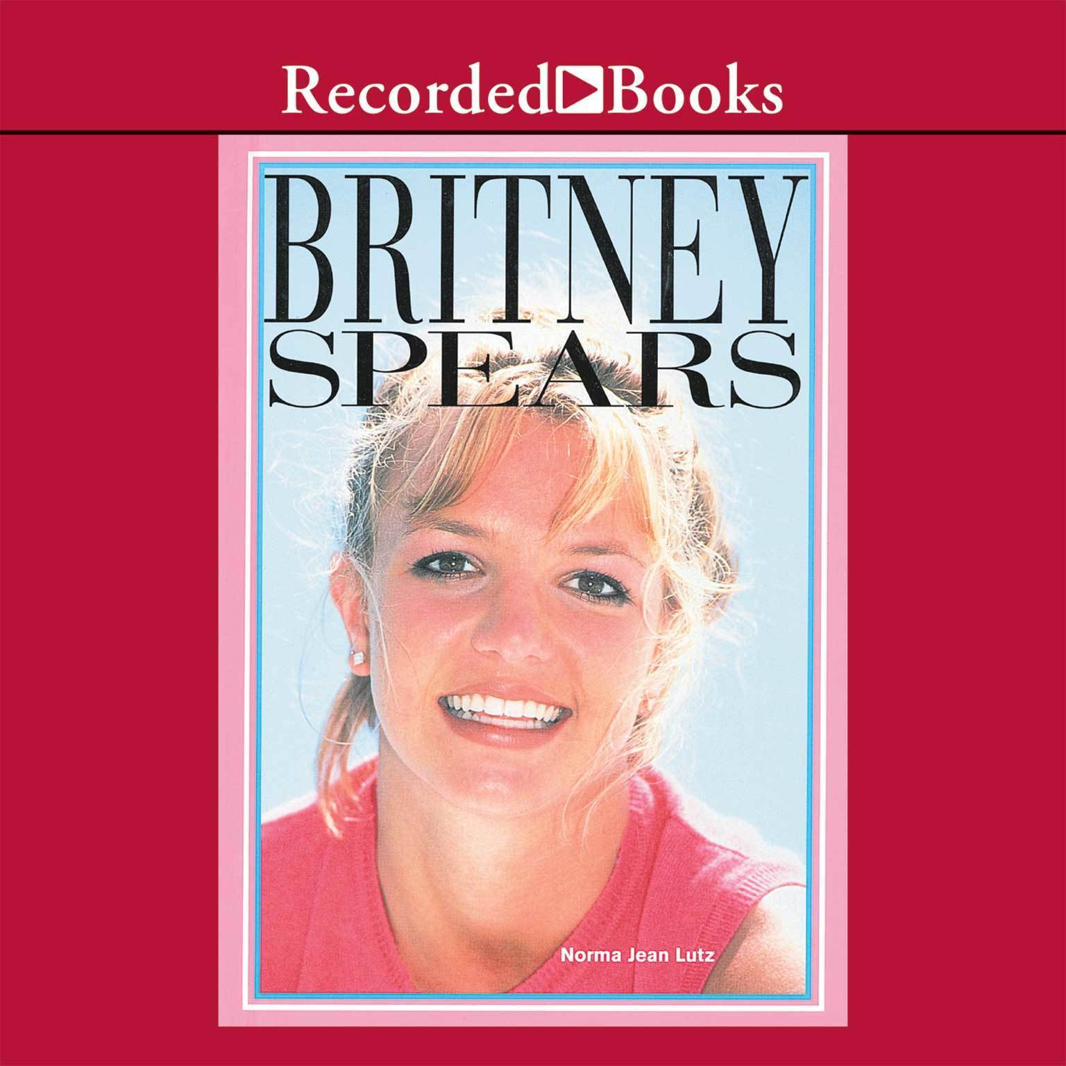 Printable Britney Spears Audiobook Cover Art
