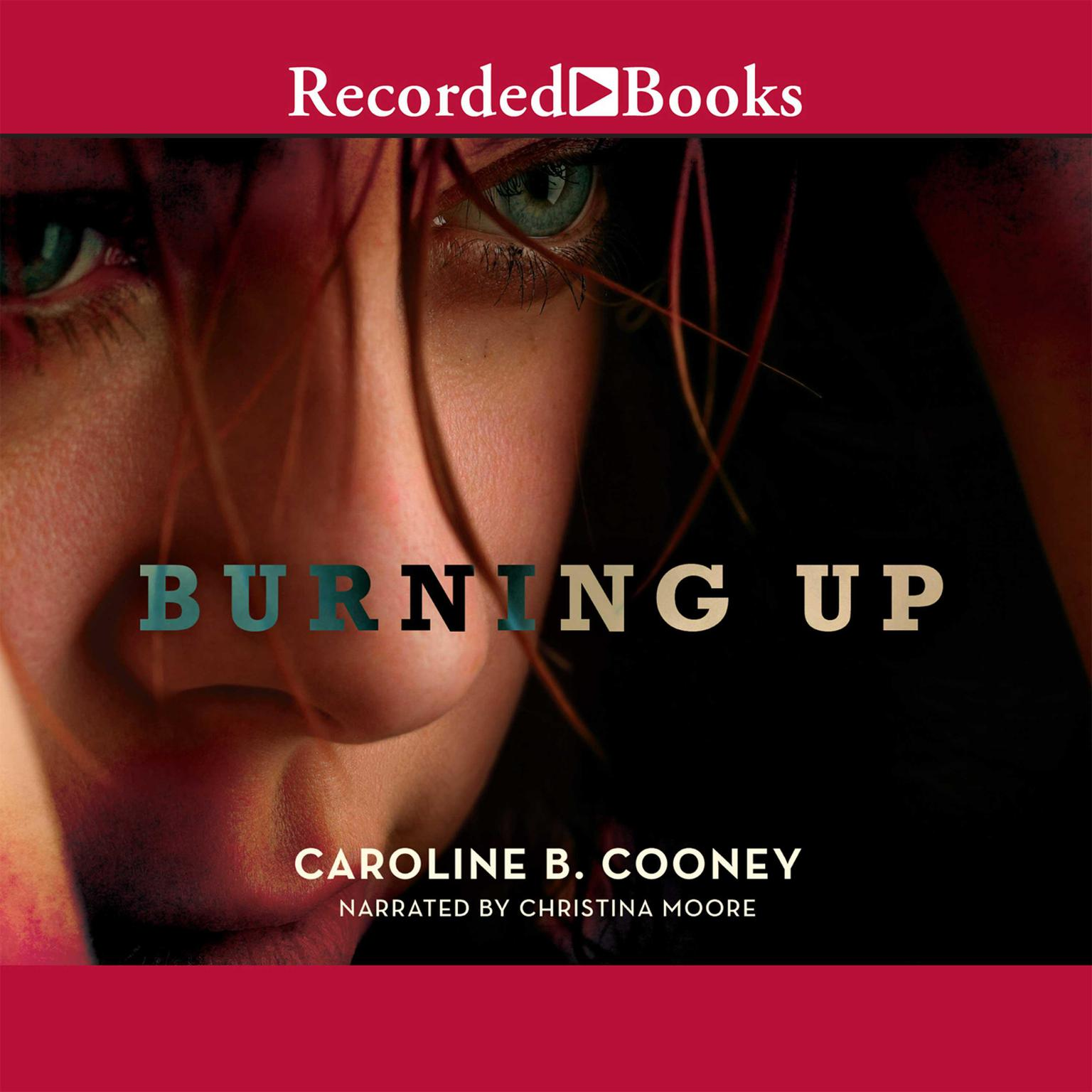Printable Burning Up Audiobook Cover Art