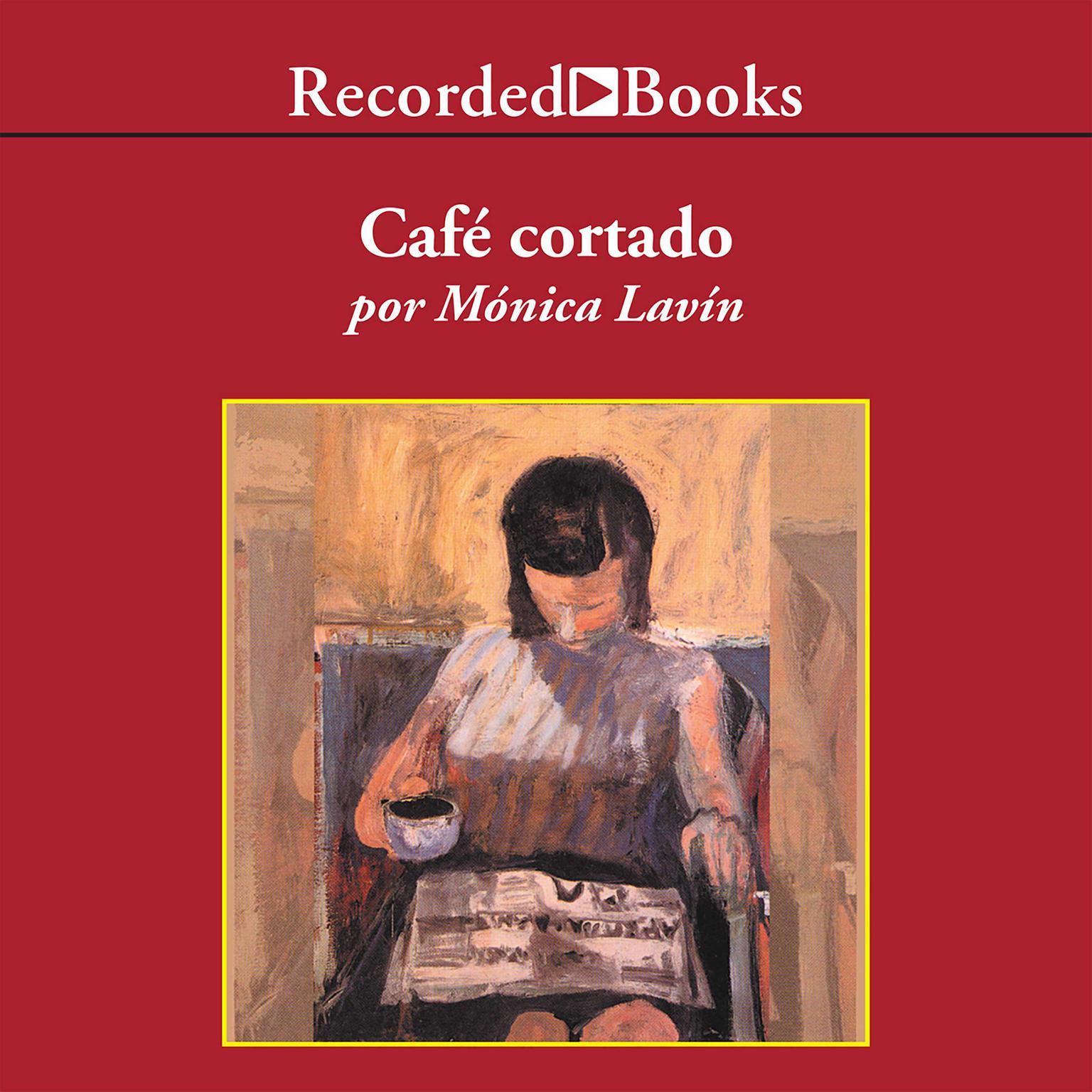 Printable Café Cortado Audiobook Cover Art