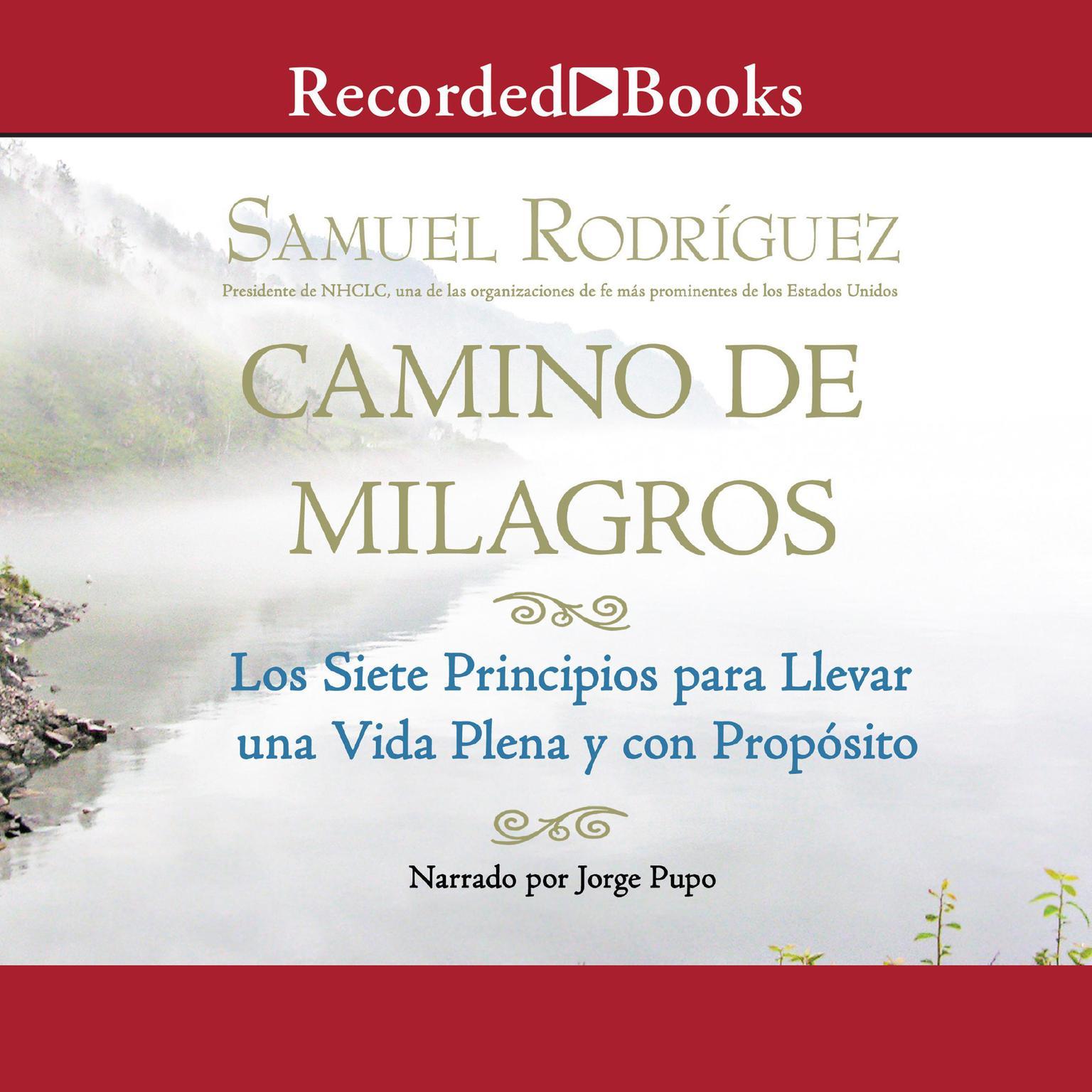 Printable Camino de Milagros: Los siete principios para llevar una vida plena y con proposito Audiobook Cover Art