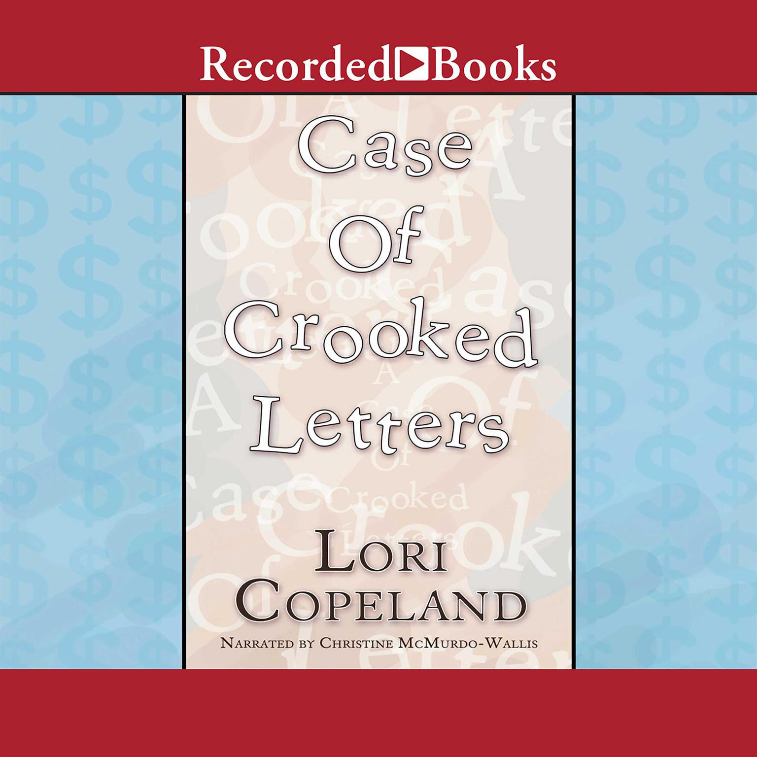 Printable A Case of Crooked Letters Audiobook Cover Art