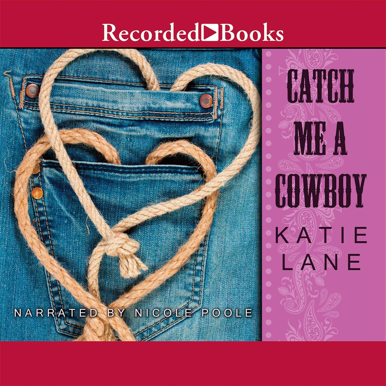 Printable Catch Me a Cowboy Audiobook Cover Art