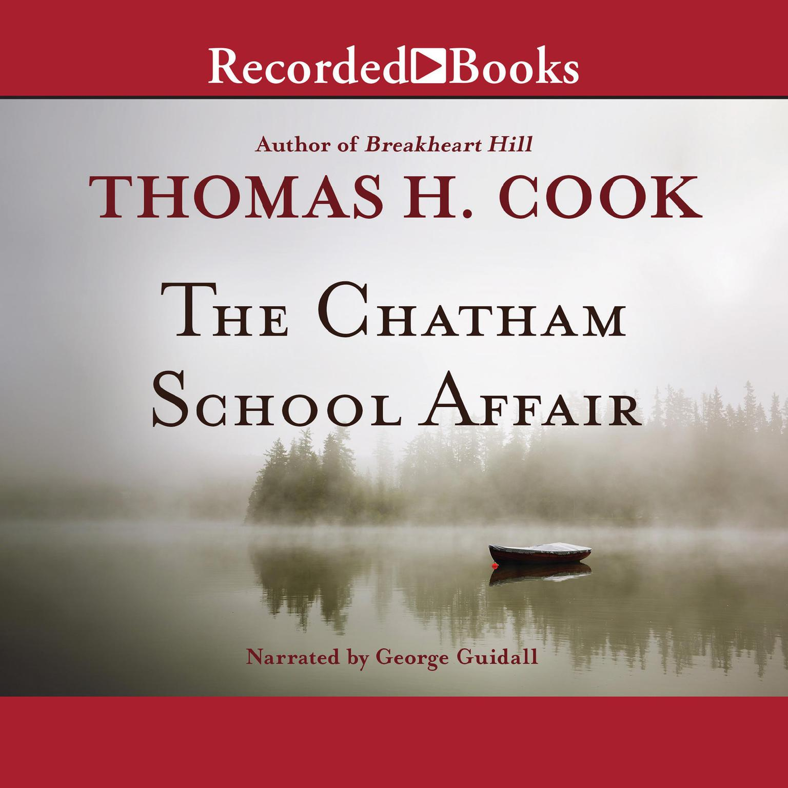 Printable The Chatham School Affair Audiobook Cover Art